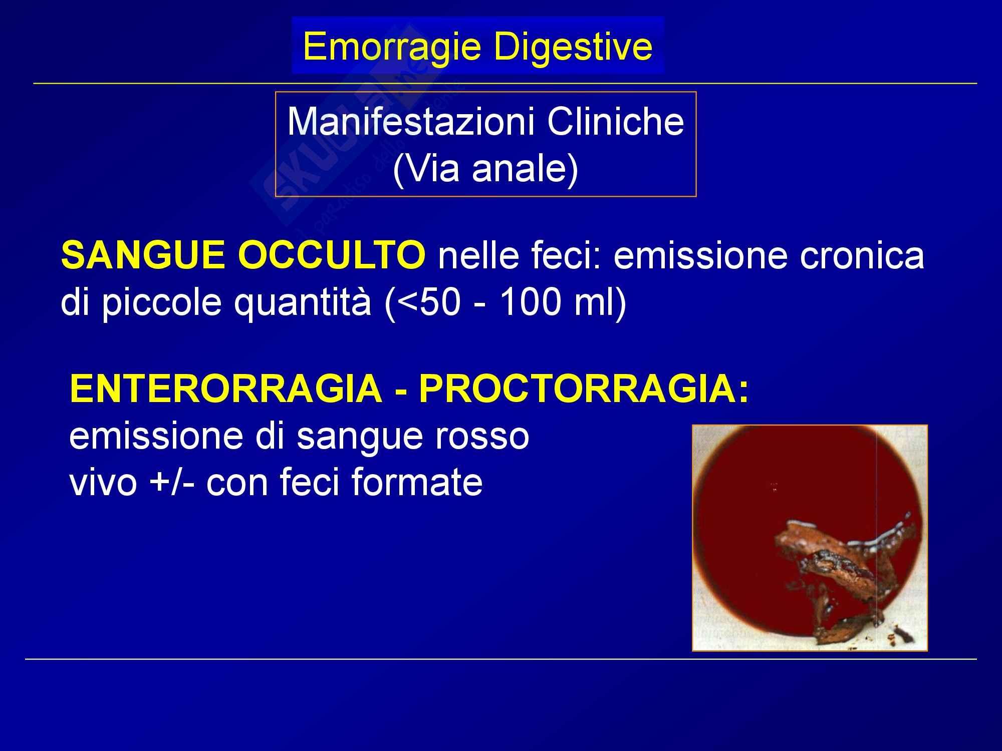 Chirurgia generale - emorragie digestive Pag. 6