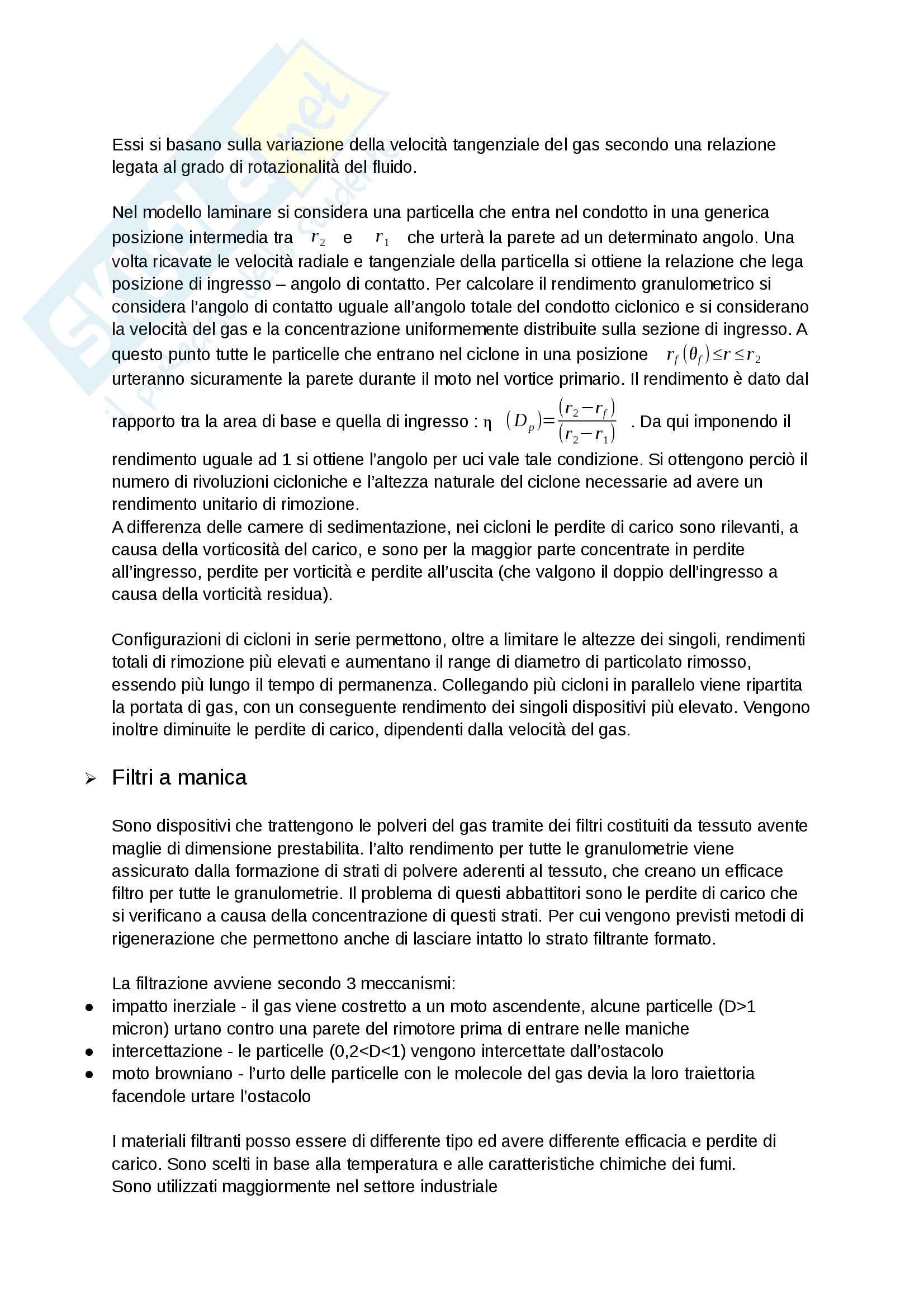 appunti di sicurezza e impatto ambientale dei sistemi energetici Pag. 16