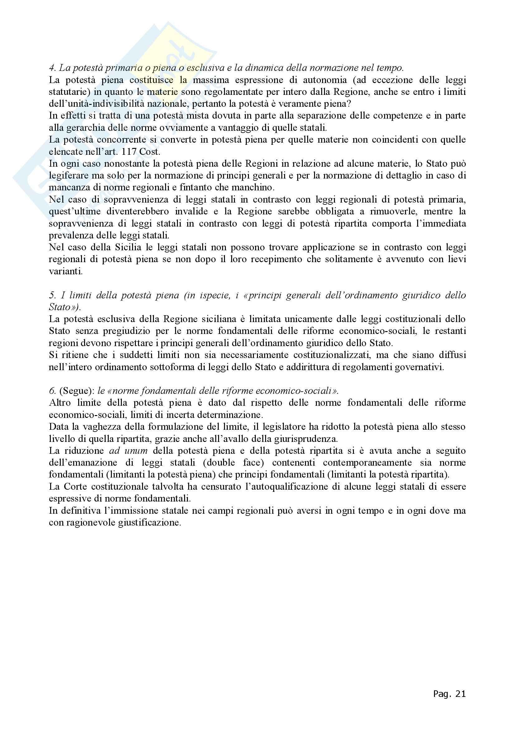 Diritto regionale - Appunti Pag. 21