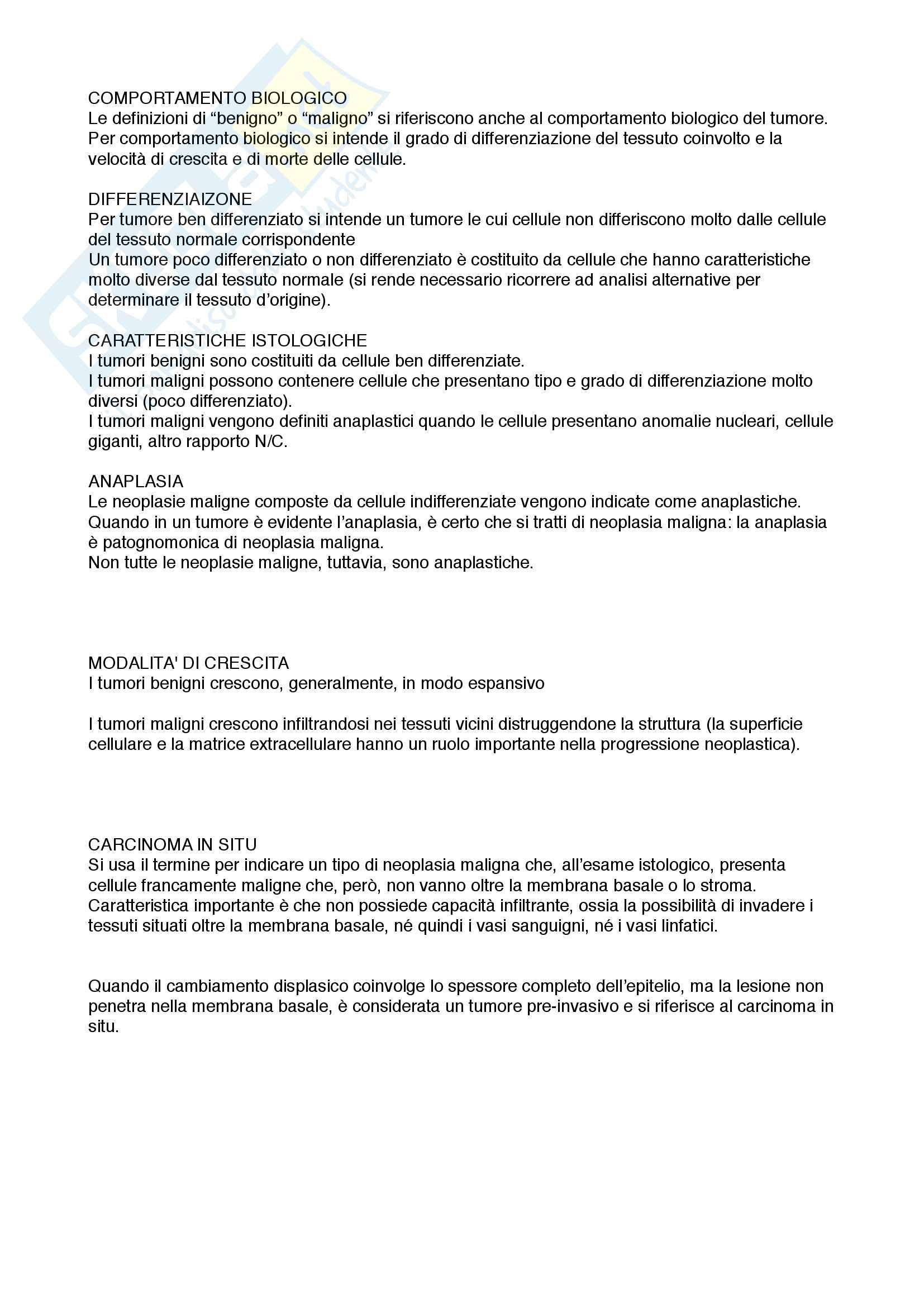 patologia generale e terminologia medica Pag. 61