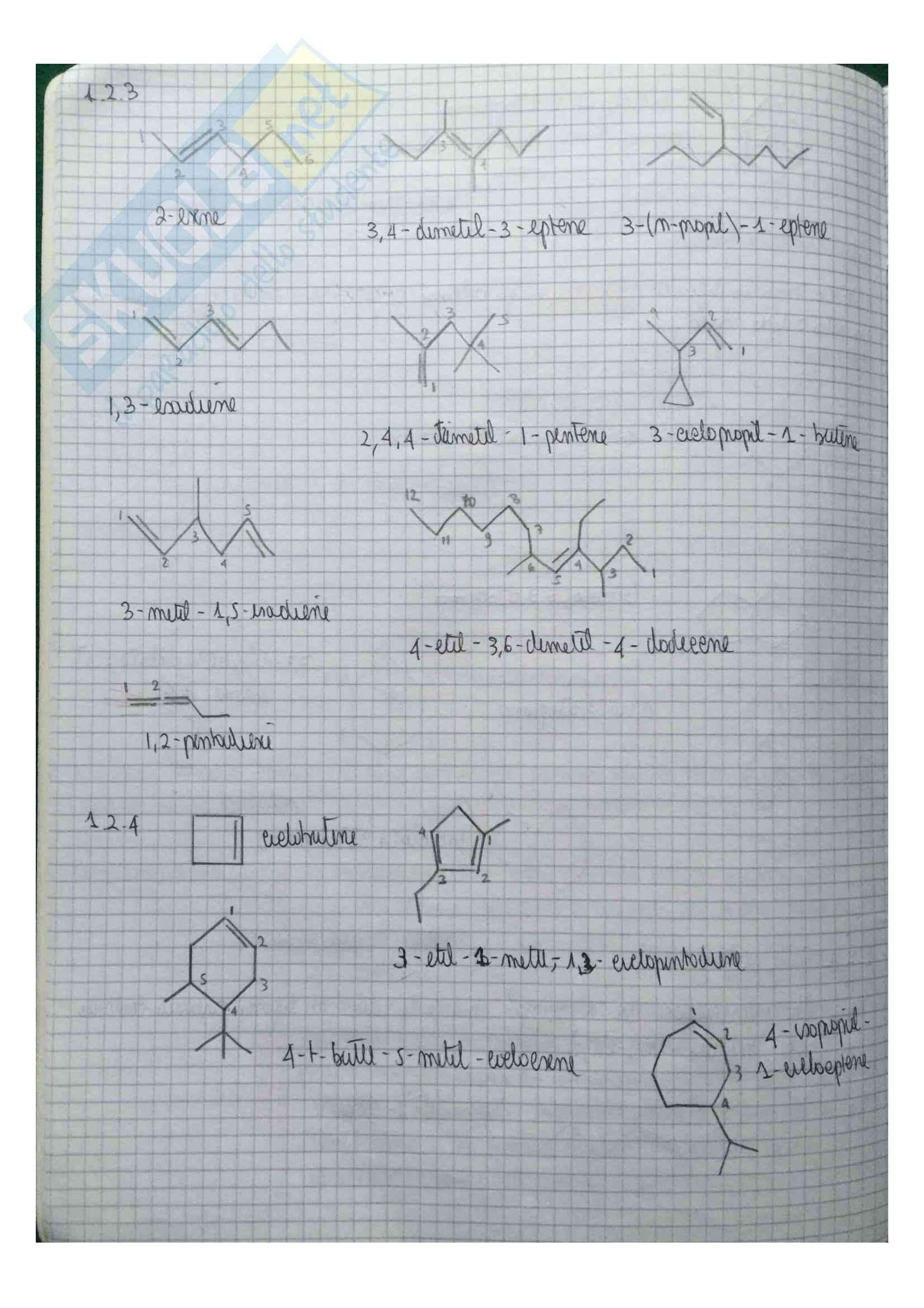 Complementi di Chimica Organica 1: Esercizi e Teoria Pag. 11