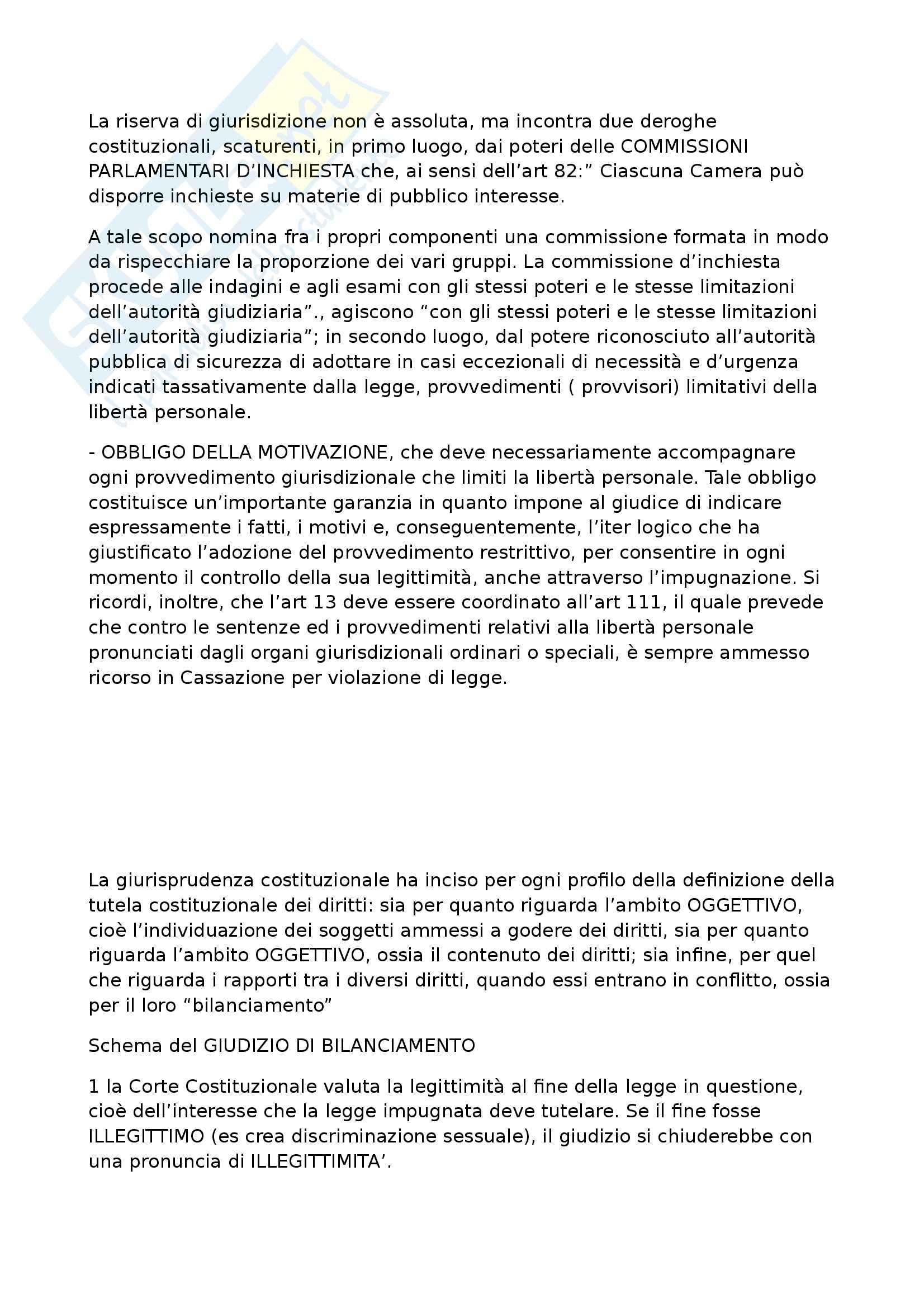 Diritto costituzionale - Appunti seconda parte Pag. 6
