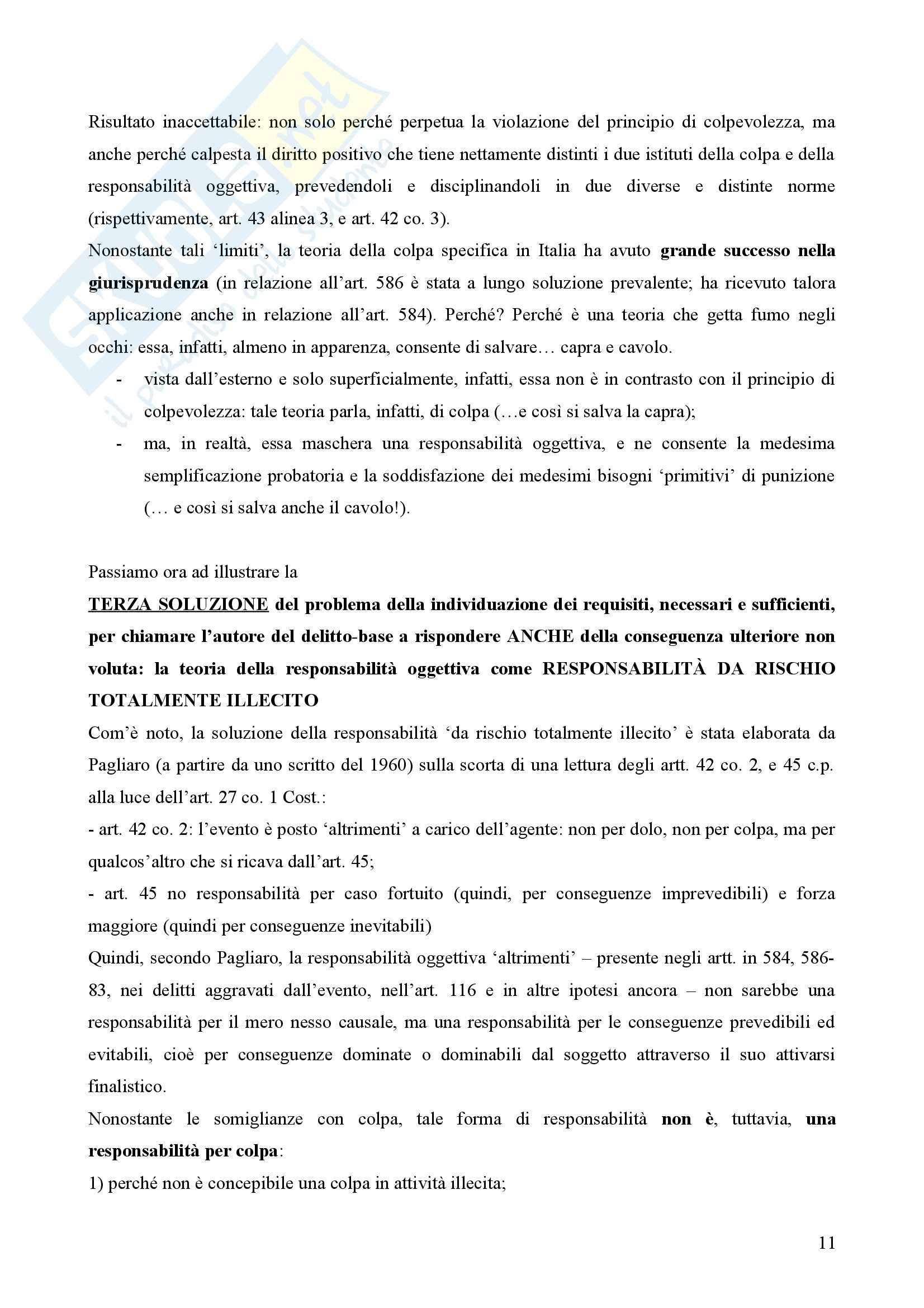 Diritto penale - Sentenza 364 della Corte Costituzionale Pag. 11