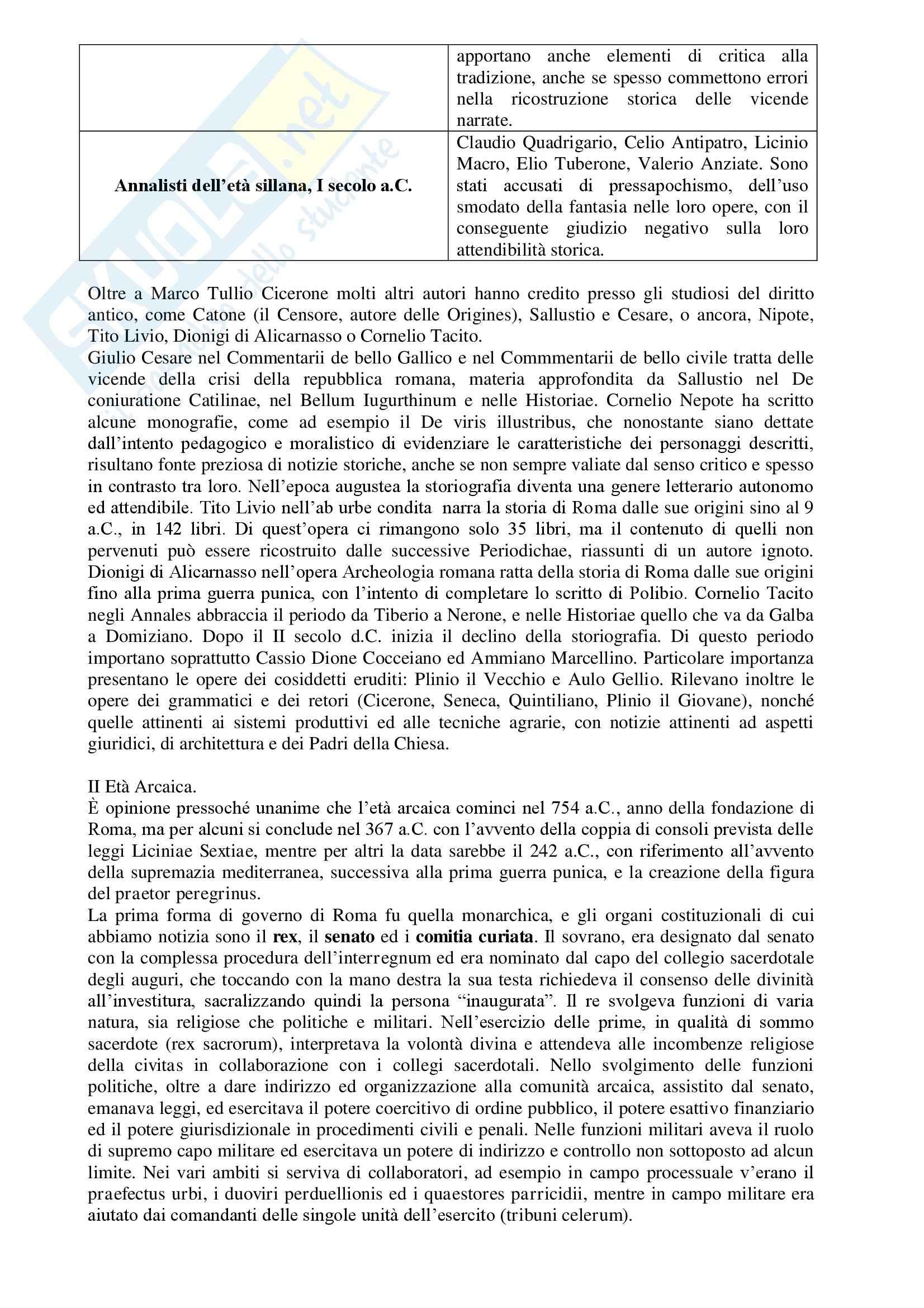 Riassunto esame Istituzioni di diritto romano, prof. Brembilla, libro consigliato Diritto Romano, Brembilla Pag. 6