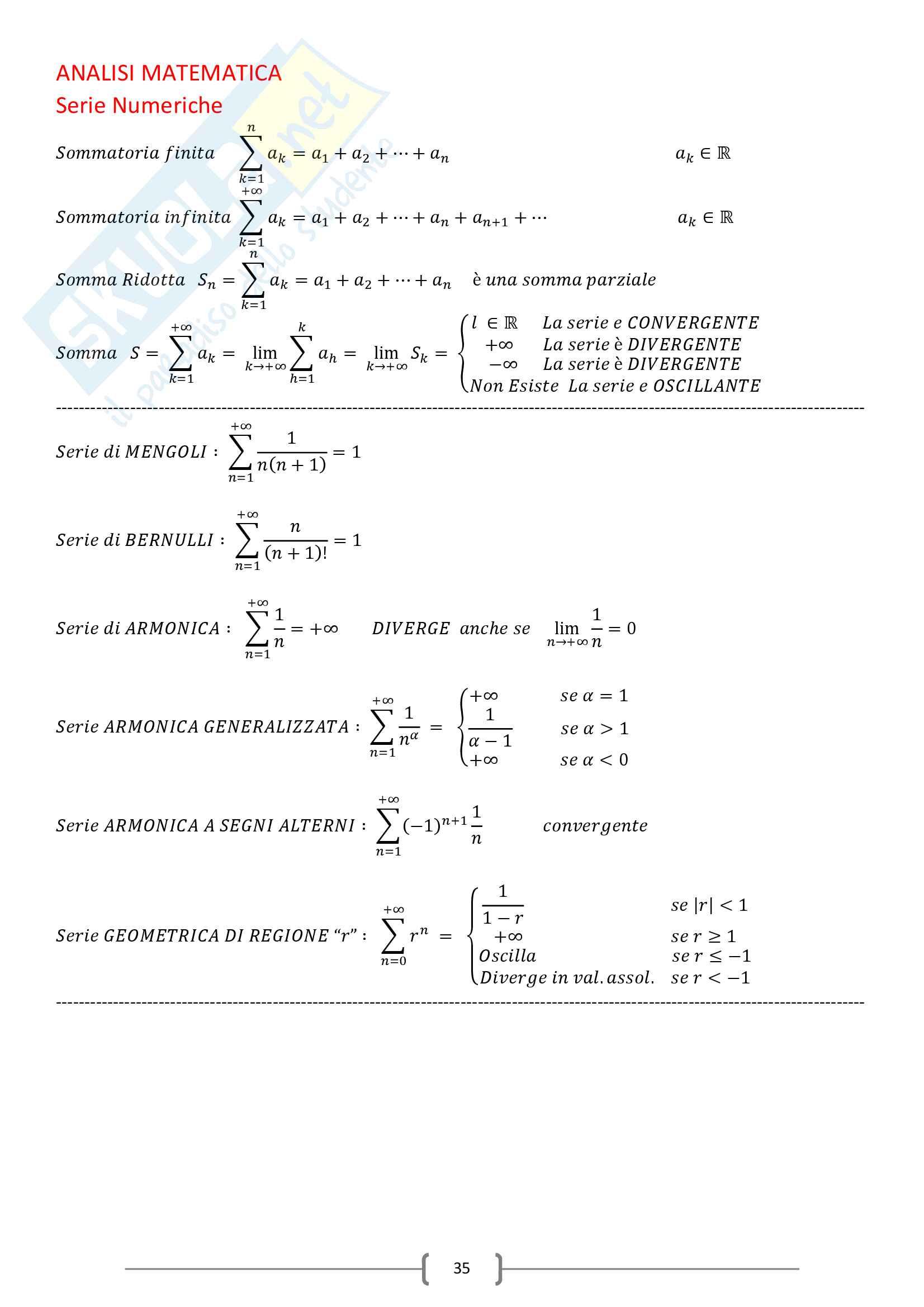 appunto L. Scuderi Analisi matematica III