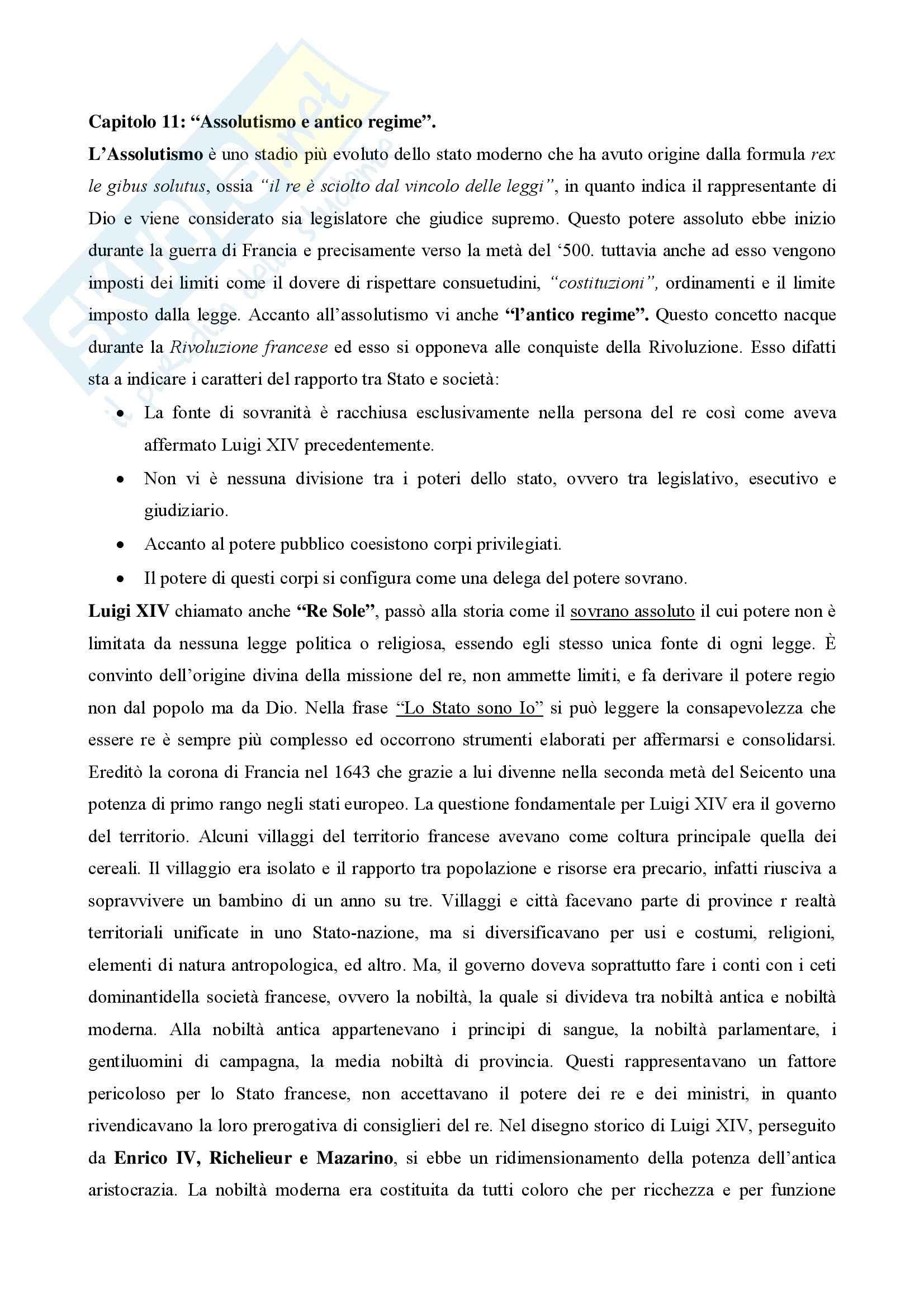 dispensa V. Fiorelli Storia moderna