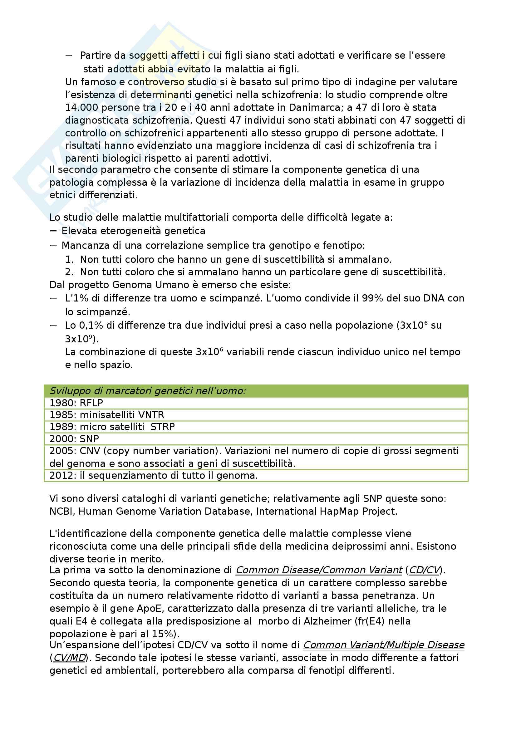 Genetica umana Pag. 36