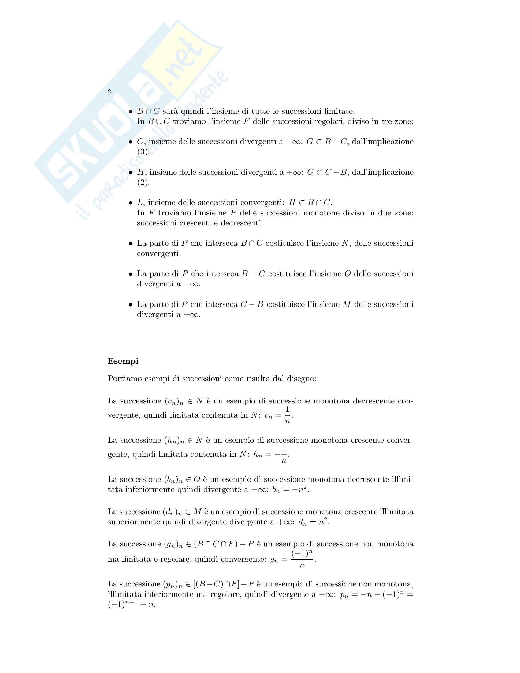 Teoria analisi matematica 1 Pag. 11