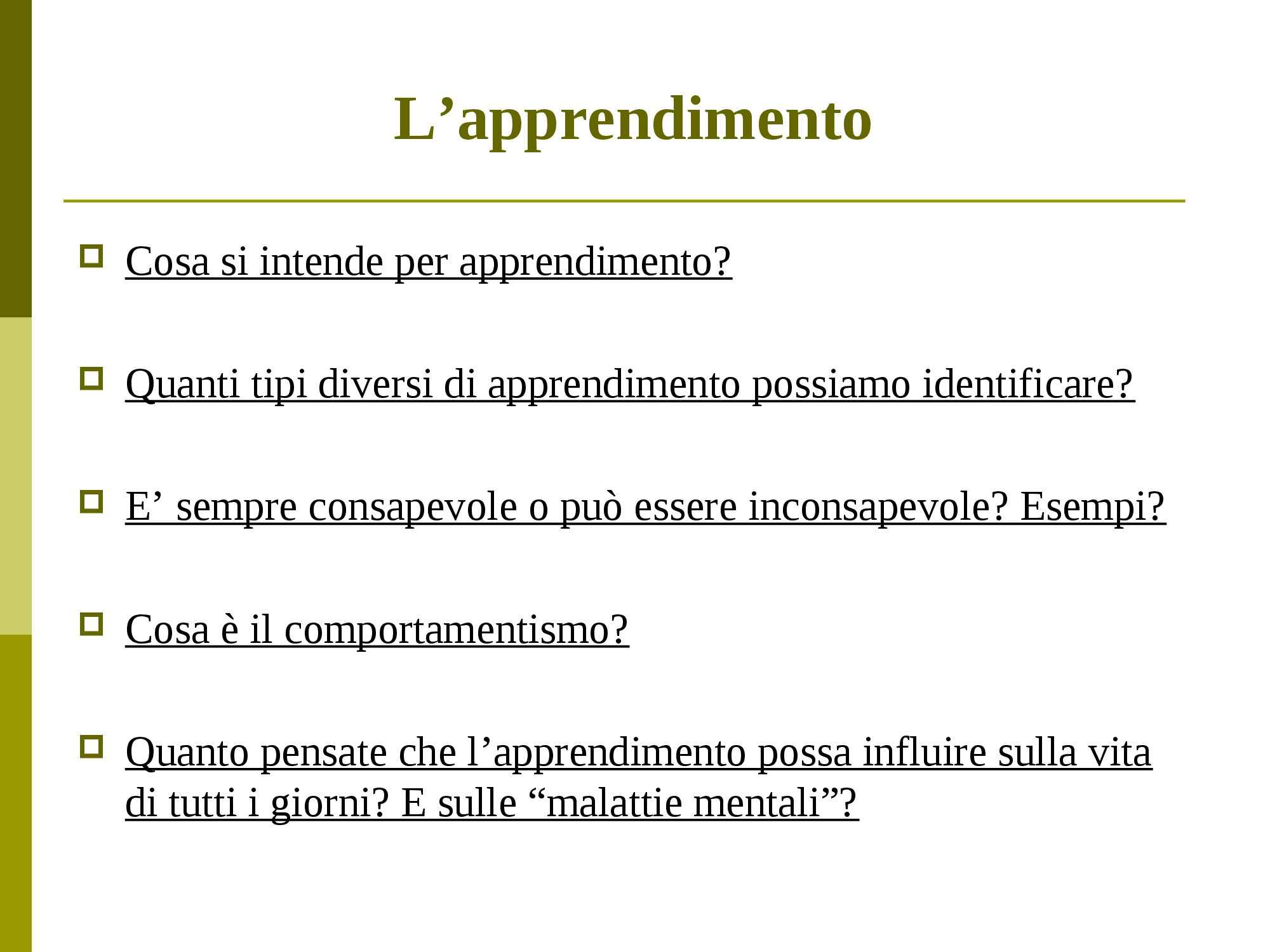 dispensa G. Campana Psicologia generale