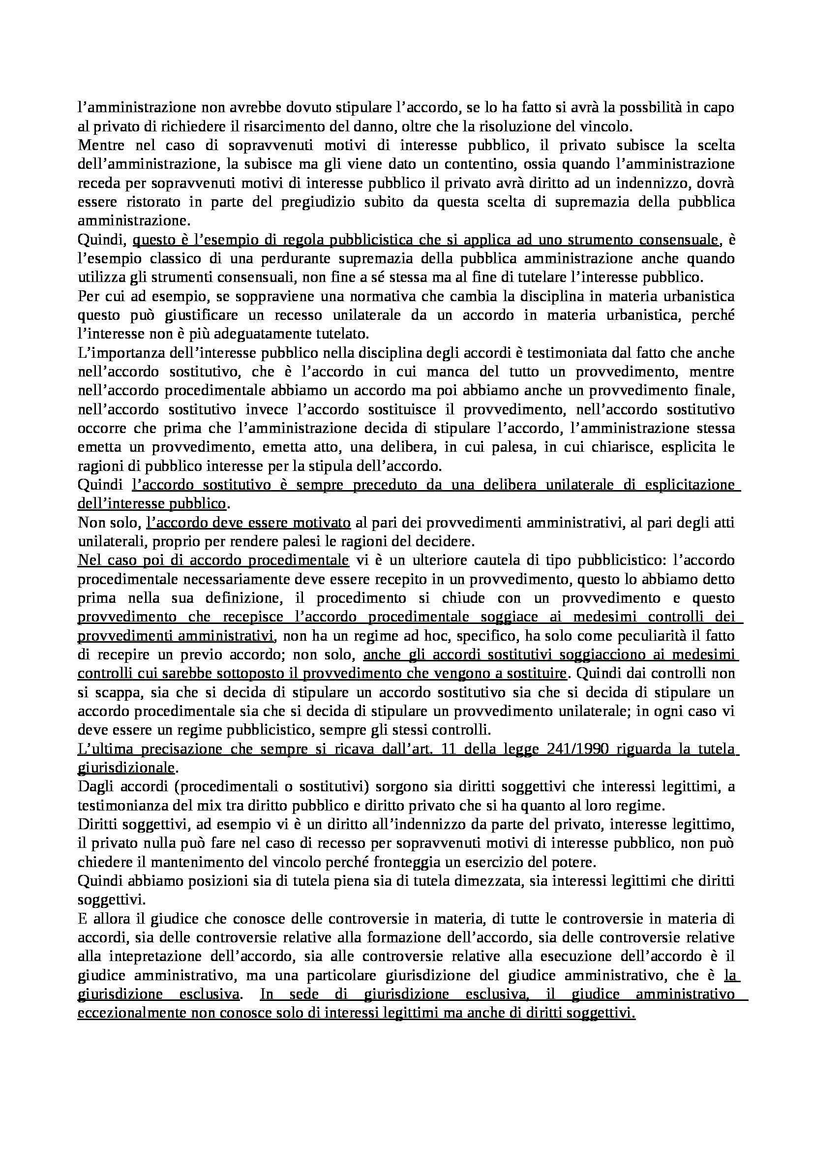 Diritto amministrativo II - Appunti Pag. 16