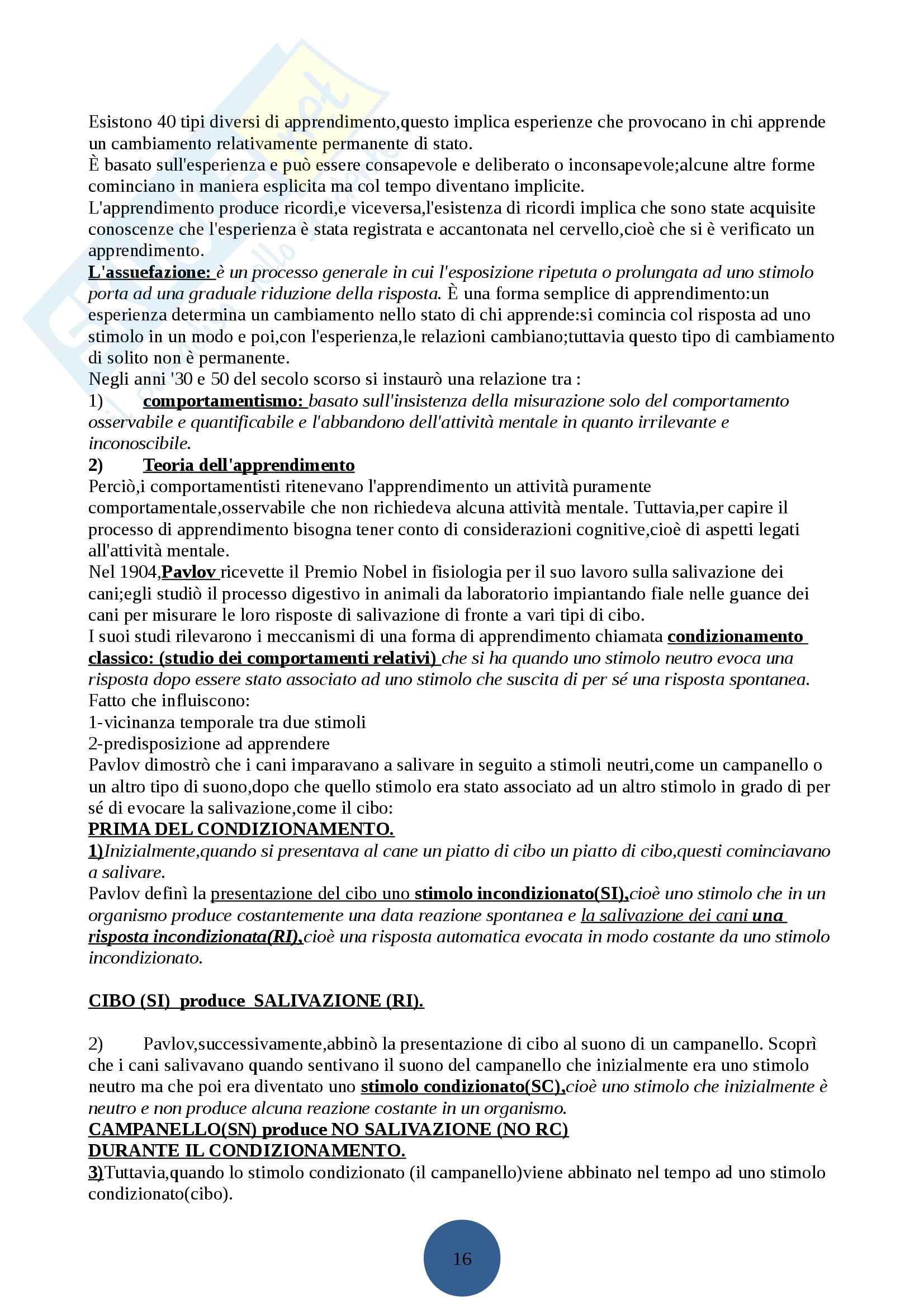 Psicologia generale I Pag. 21