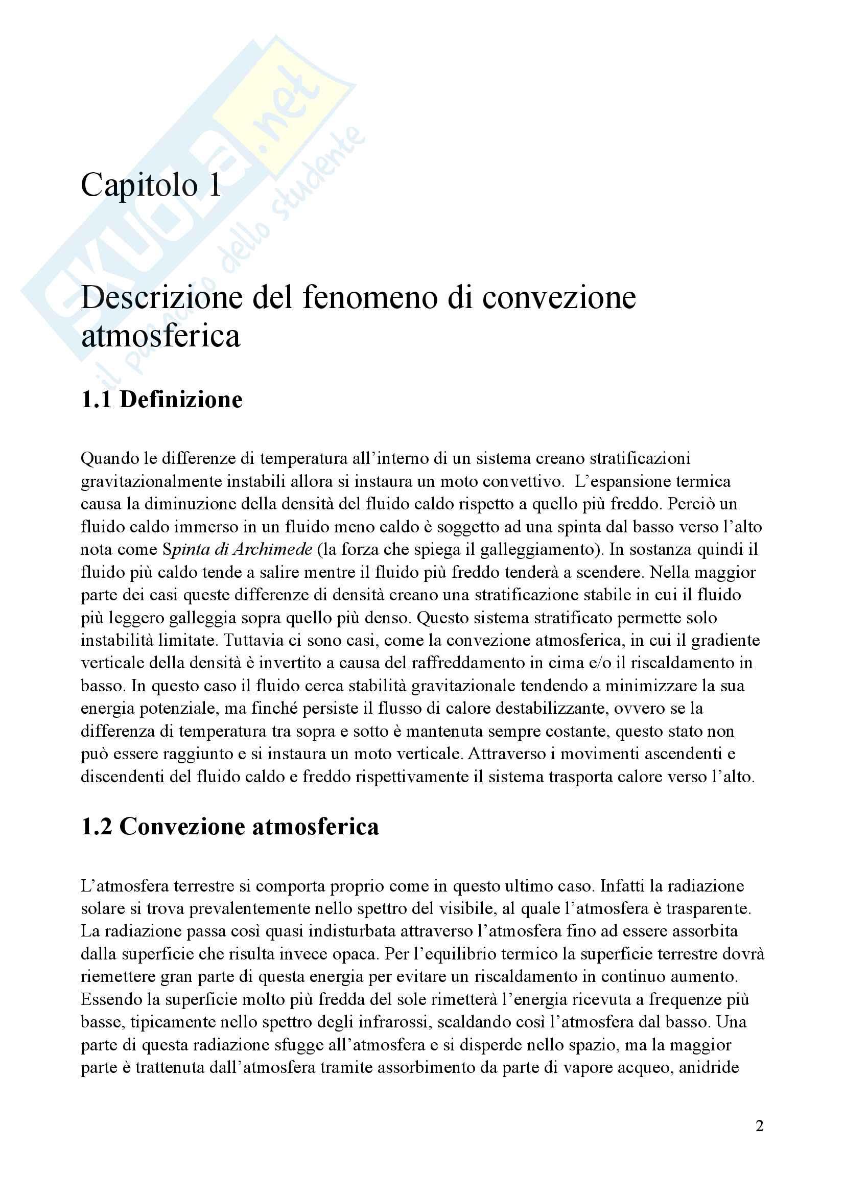 Tesi di Laurea Triennale - Dinamiche Caotiche e moti caotici in meteorologia: Il Modello di Lorenz Pag. 6