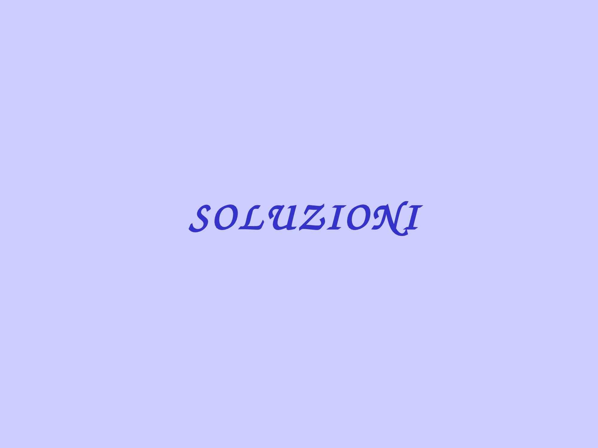 Soluzioni e proprietà colligative