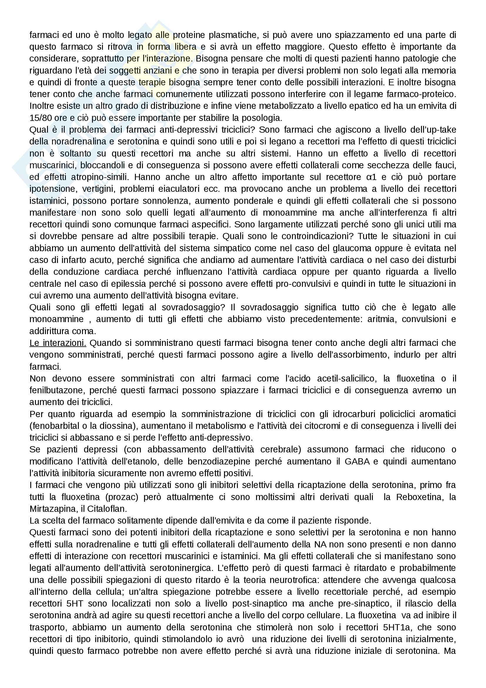 Farmacologia Lezione 4 Pag. 6