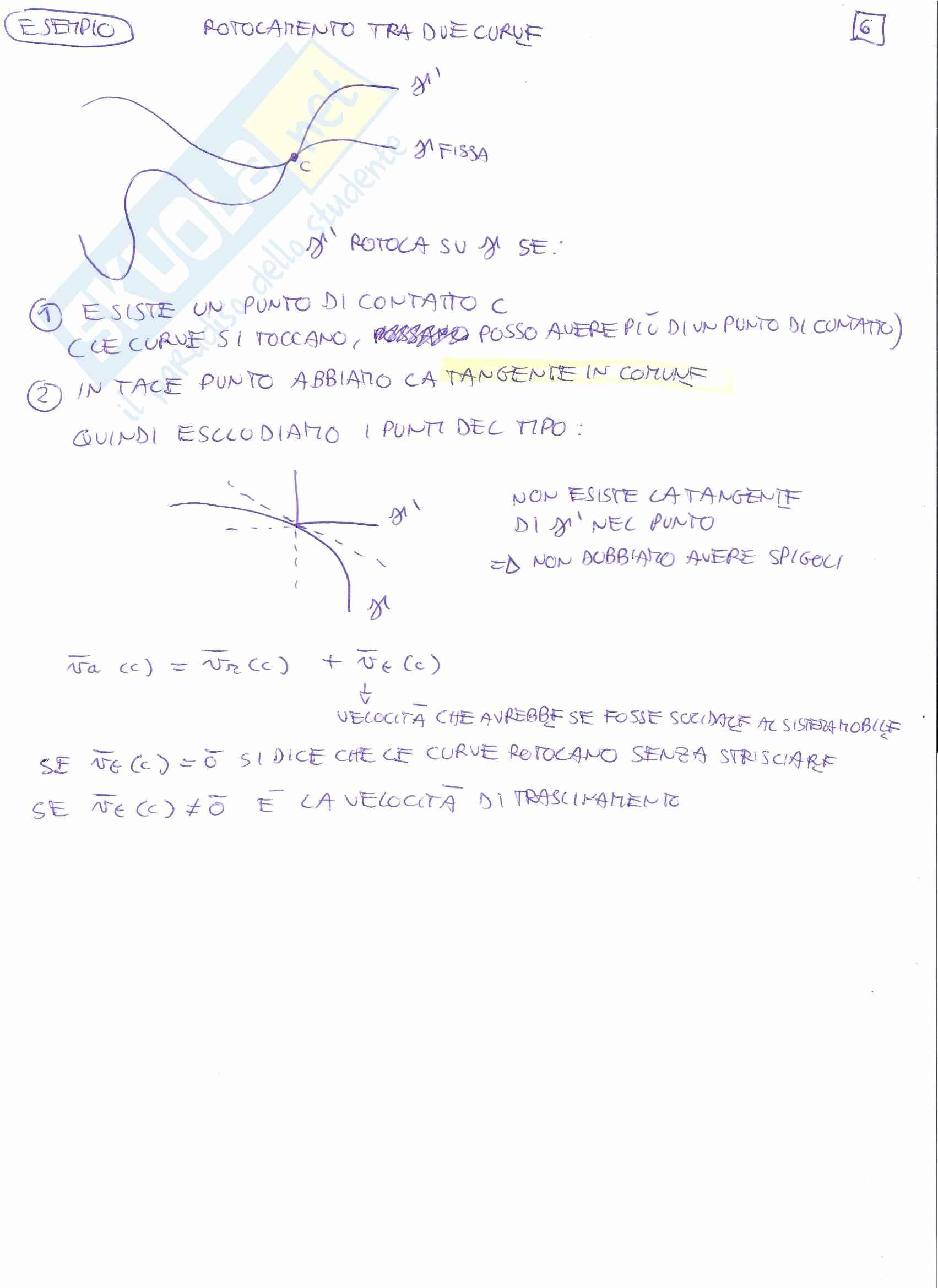 Meccanica Razionale T - Simulazione esame orali Pag. 11