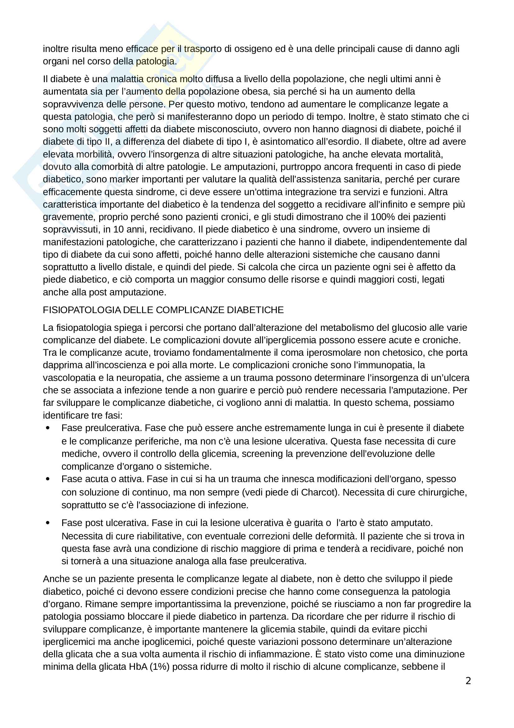 Appunti di diabetologia Pag. 2