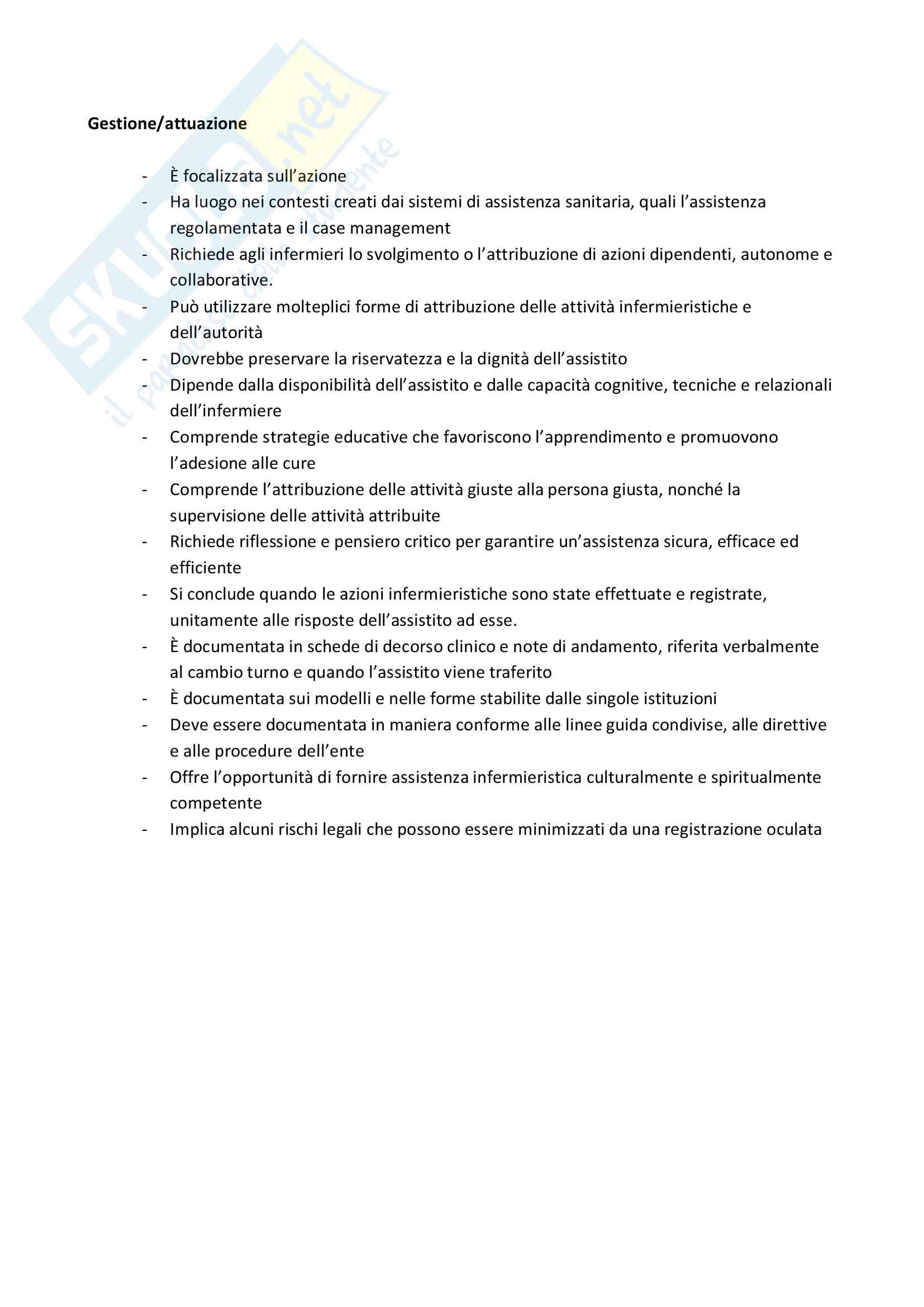 Processo infermieristico e pensiero critico Pag. 6
