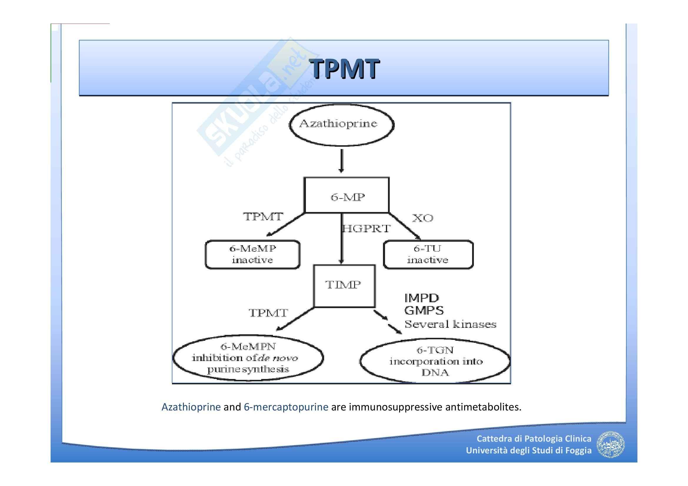 Farmacogenomica Pag. 36