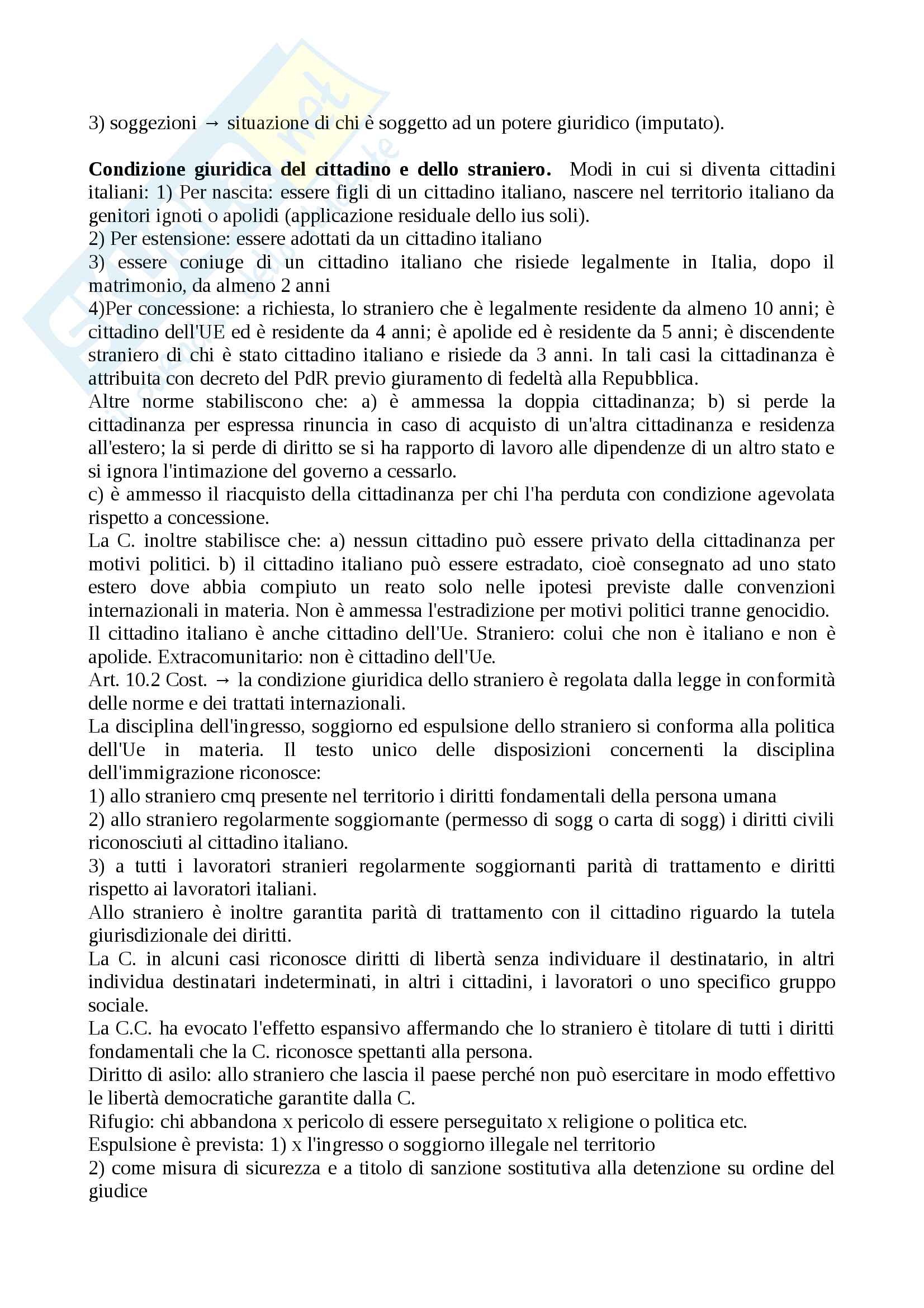 Riassunto esame diritto costituzionale, prof.Giupponi, libro consigliato Corso di diritto costituzionale, Barbera, Fusaro Pag. 16