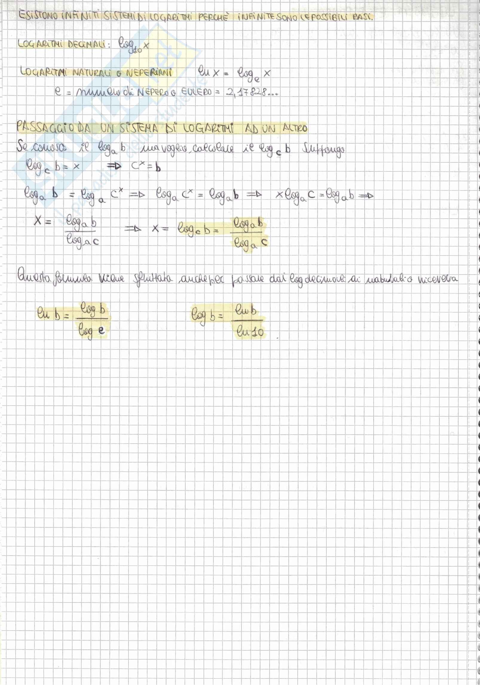 Tutti i quesiti di Matematica Alpha Test con soluzioni e riassunti per l'accesso alle Professioni sanitarie e Medicina Pag. 16