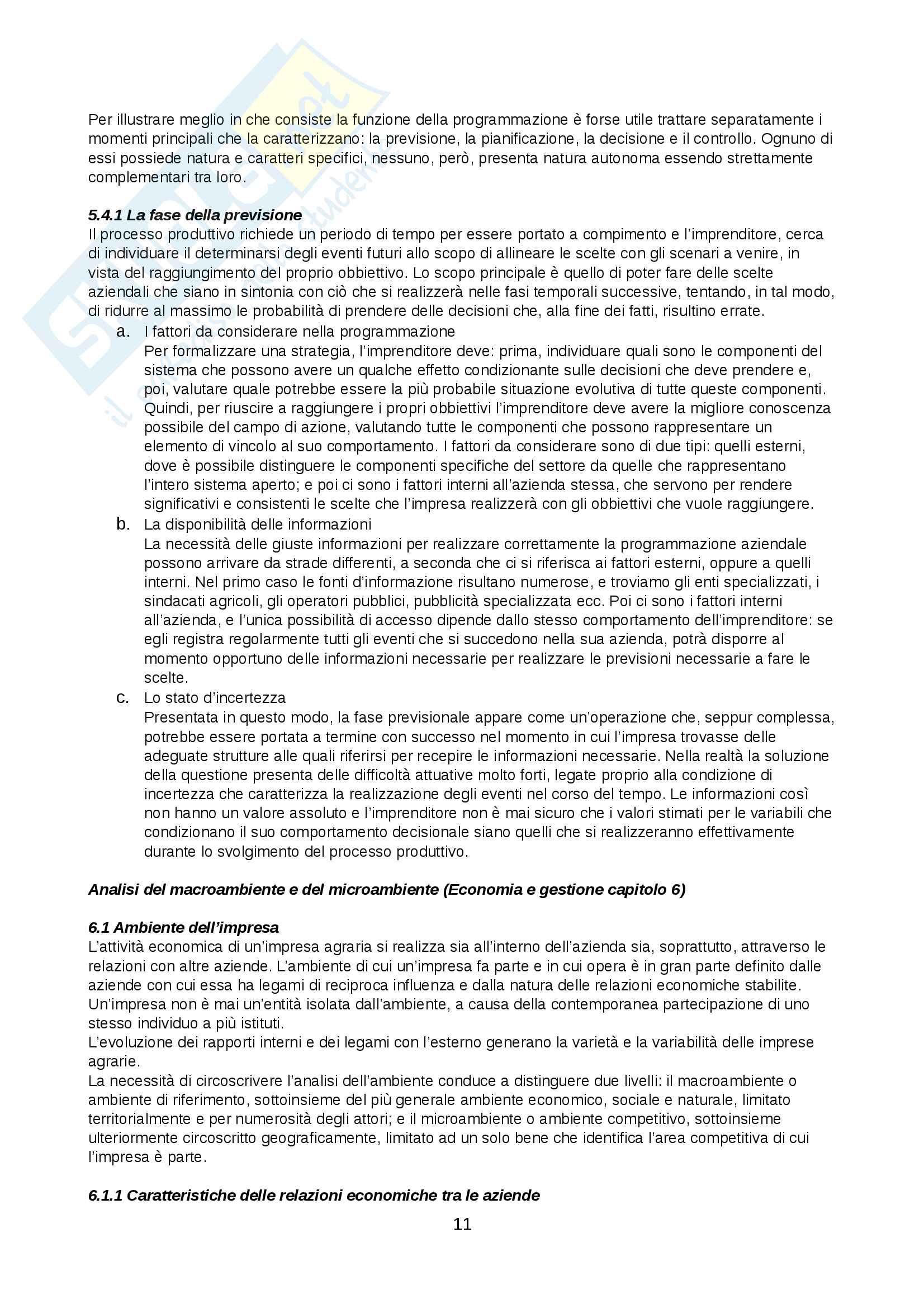 Riassunti Economia Agraria Pag. 11
