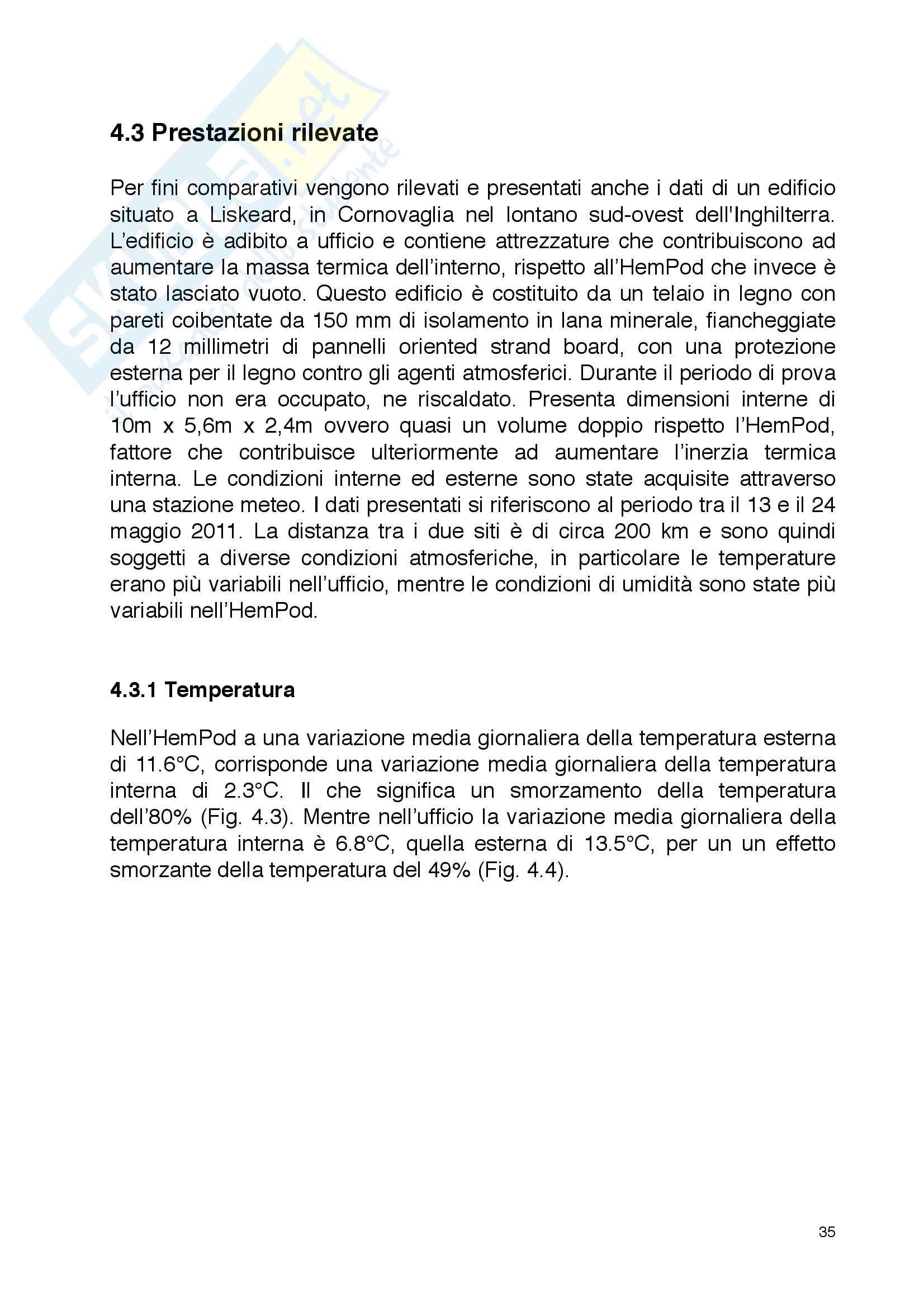 Utilizzazione delle fibre di canapa in edilizia - Tesi di laurea triennale in Ingegneria Civile Pag. 36