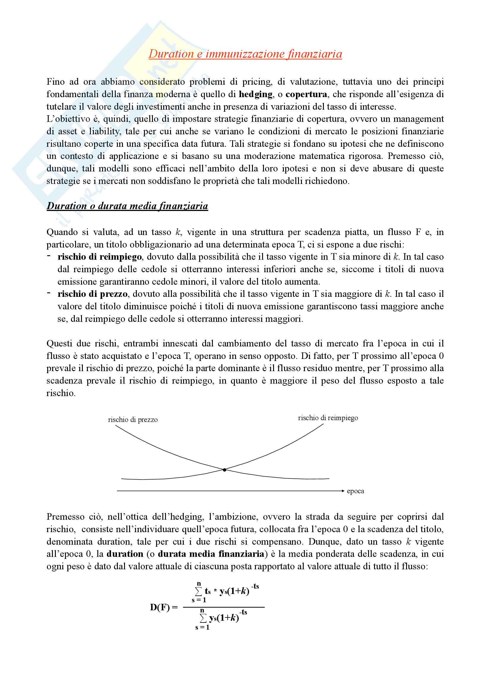 Matematica finanziaria, secondo parziale Pag. 11