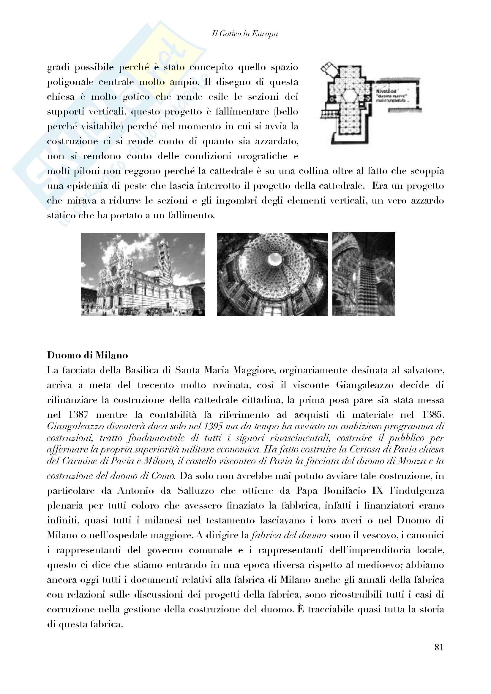 Riassunto completo + Iimmagini - Storia Architettura I - Dall'Antica Grecia al Rinascimento Italiano Pag. 81