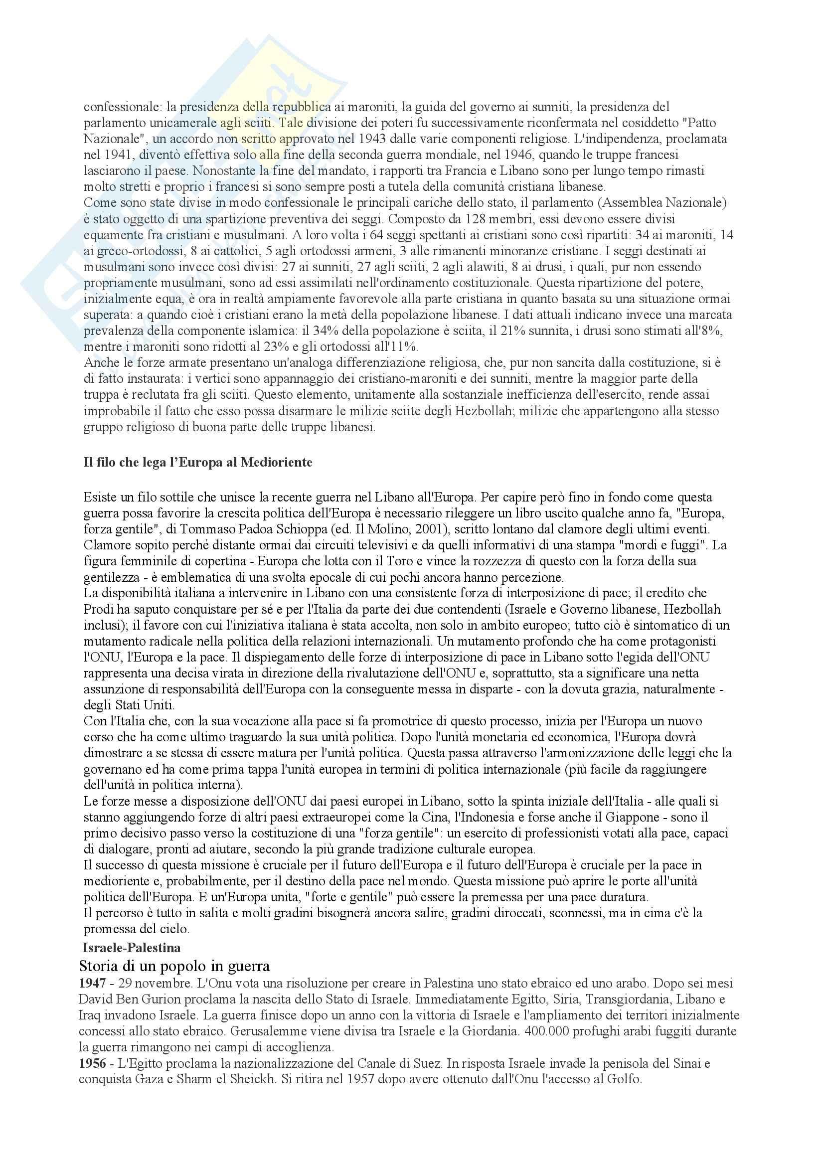 Riassunto esame Geografia Economica, prof. indefinito, libro consigliato Geopolitica, Lizza Pag. 11