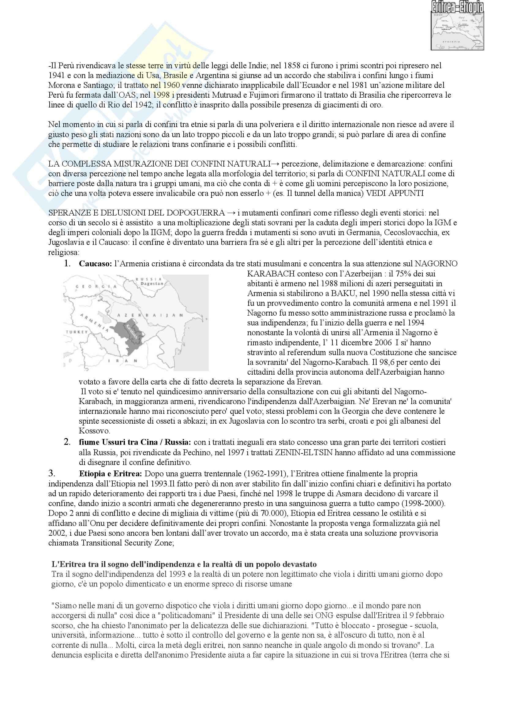 Riassunto esame Geografia Economica, prof. indefinito, libro consigliato Geopolitica, Lizza Pag. 21