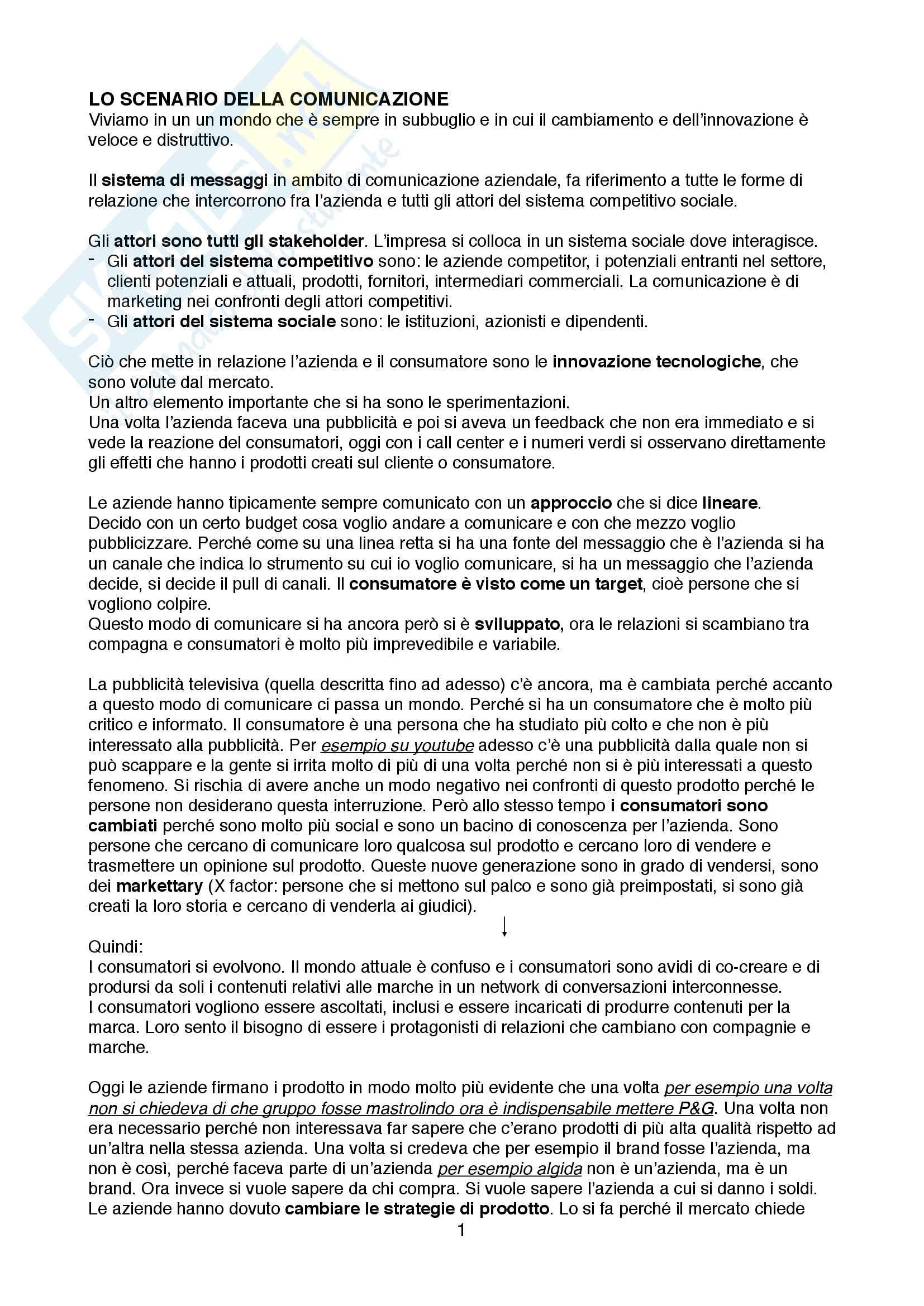 Comunicazione aziendale  - Gambetti