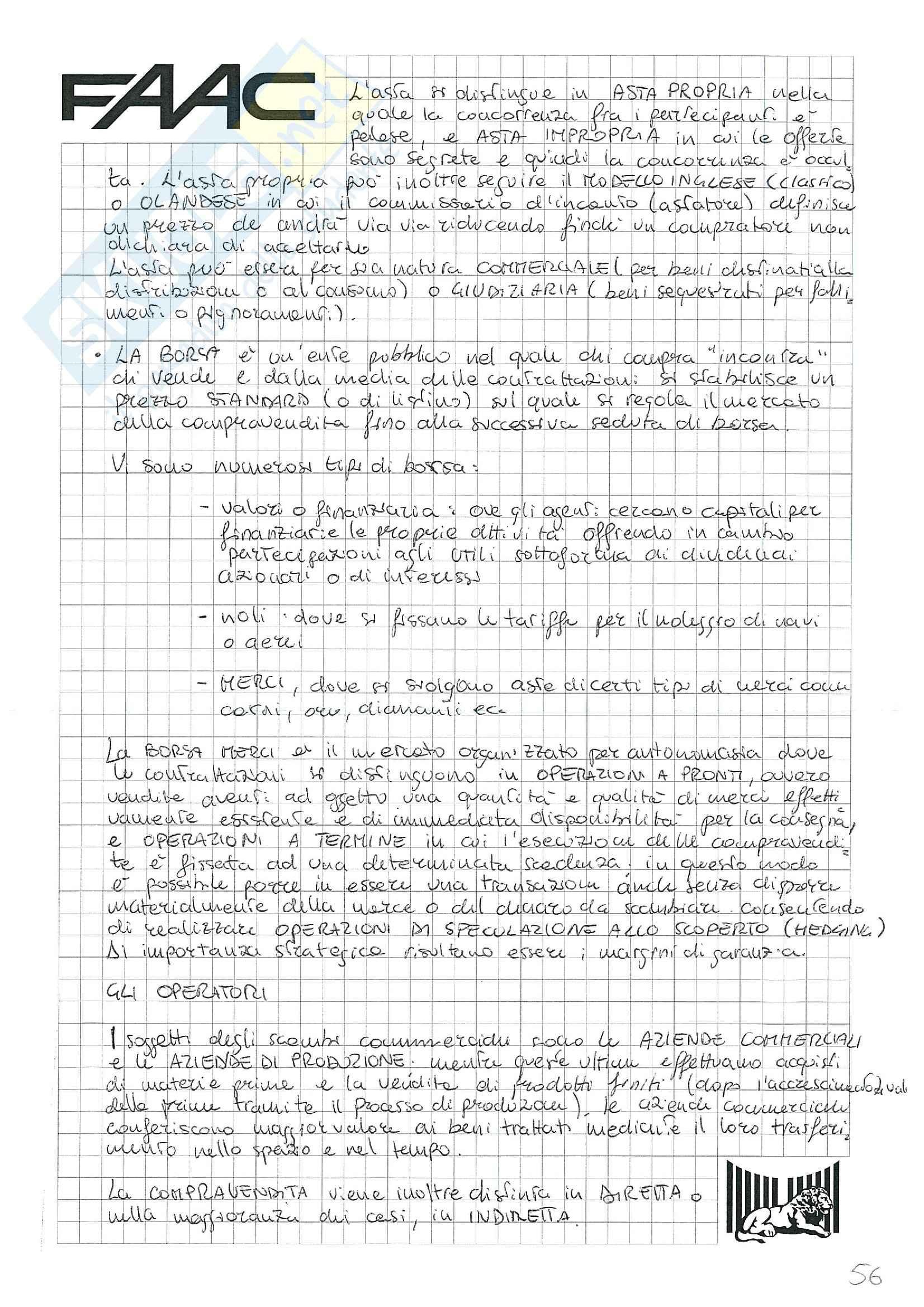 Riassunto esame Economia e gestione delle imprese, prof. Santovito, libro consigliato La gestione d'impresa, Scicutella Pag. 56
