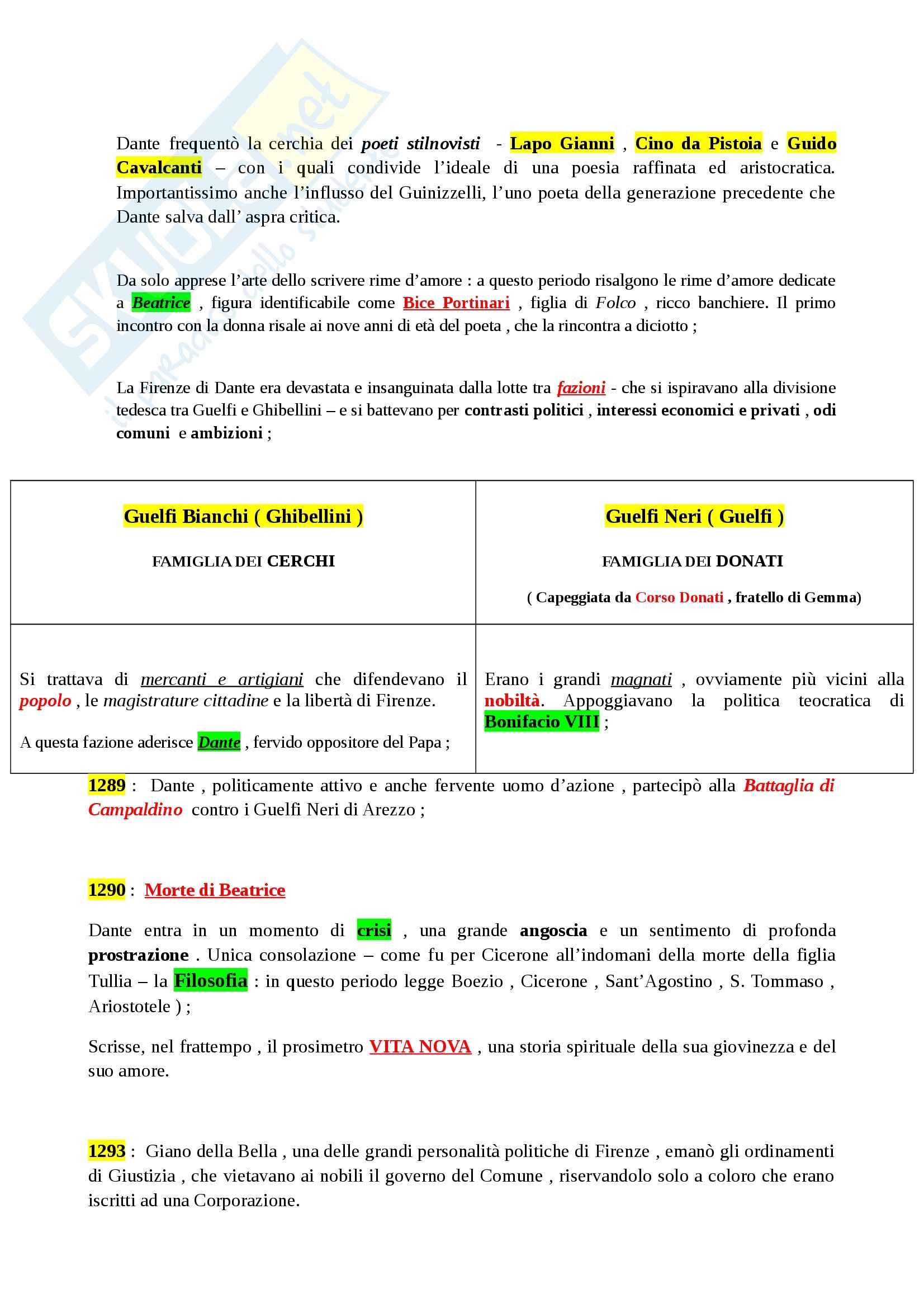 Riassunto esame Letteratura Italiana: La Letteratura Italiana, dalle Origini al Secondo Ottocento, prof. Paolino Pag. 21