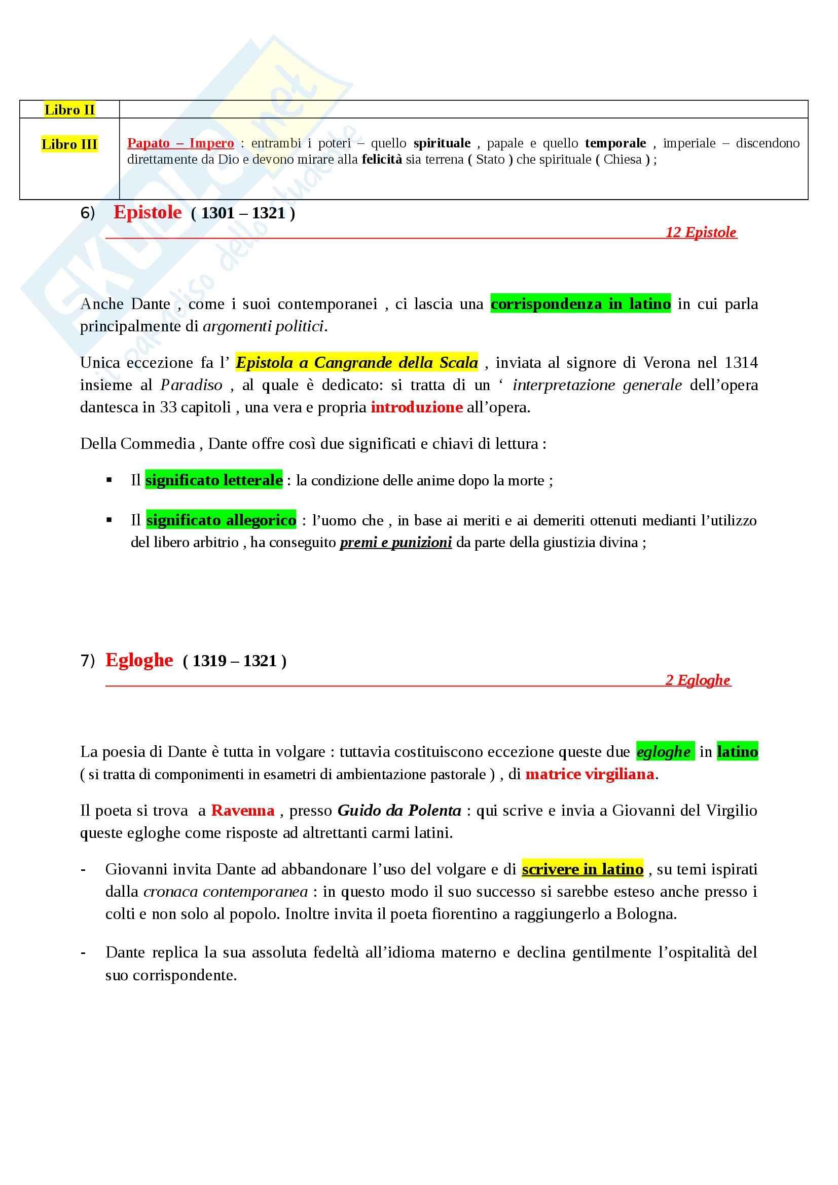 Riassunto esame Letteratura Italiana: La Letteratura Italiana, dalle Origini al Secondo Ottocento, prof. Paolino Pag. 31