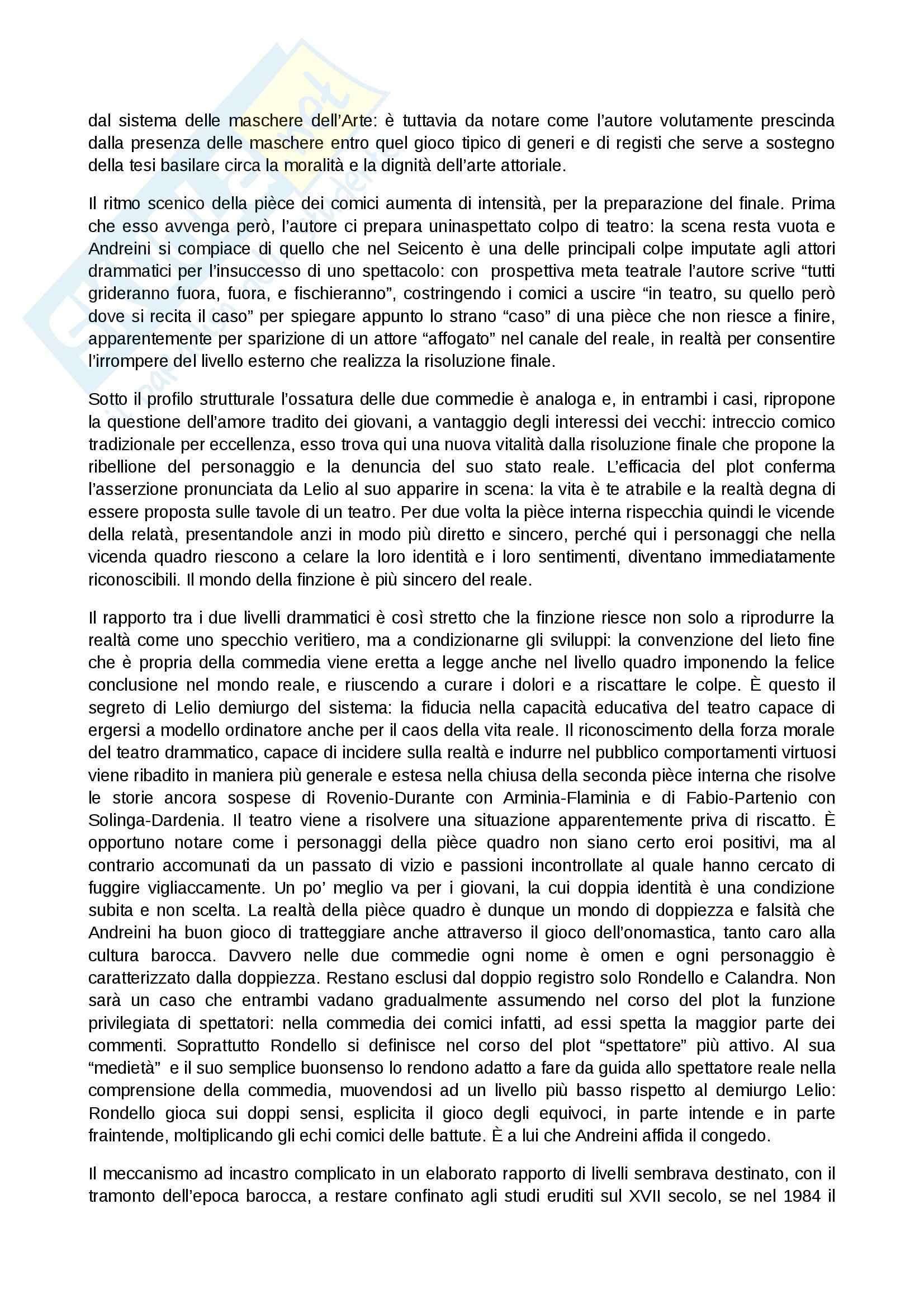 Commedie in commedia: Appunti di Drammaturgia Pag. 6