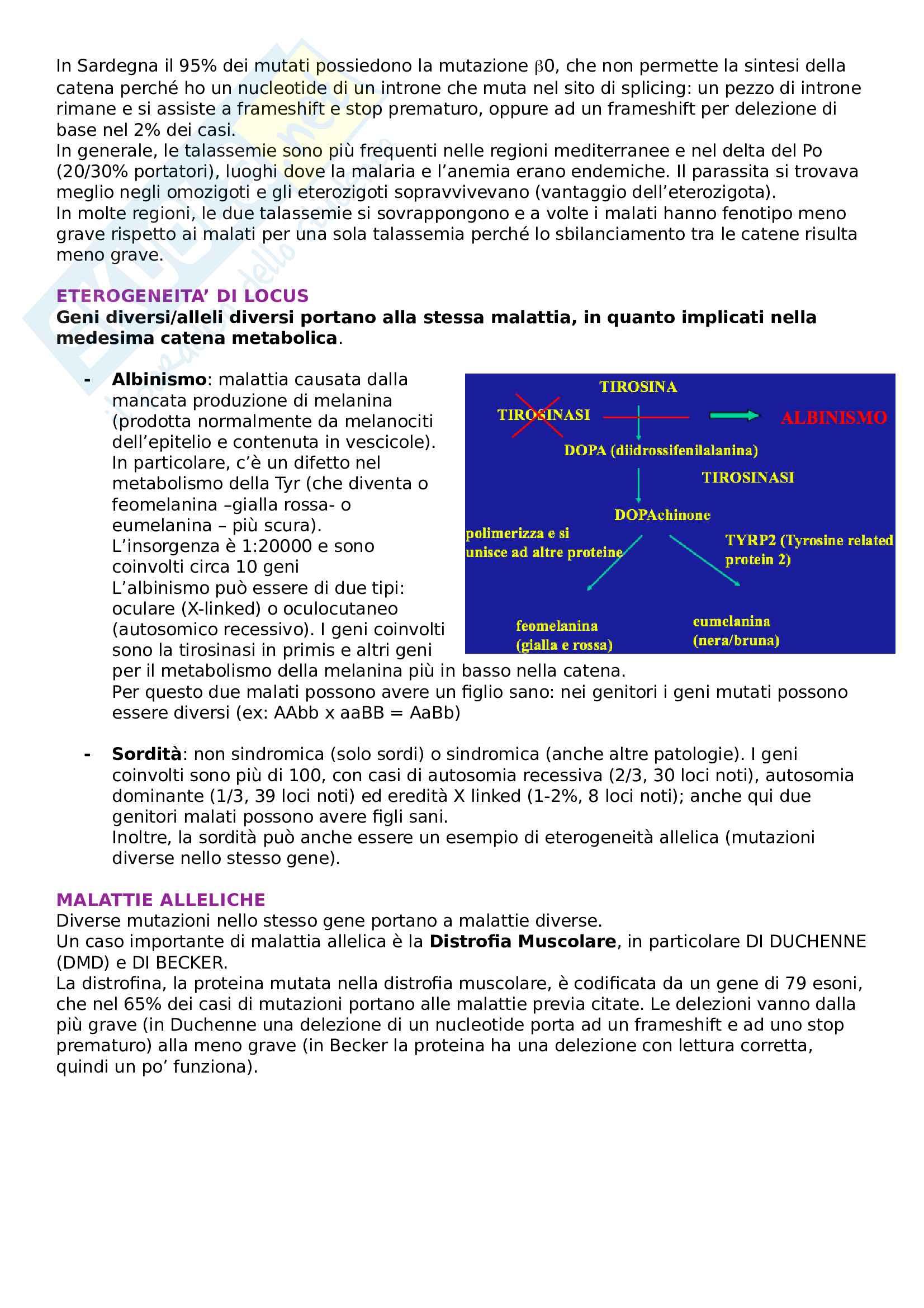 Genetica medica Pag. 11