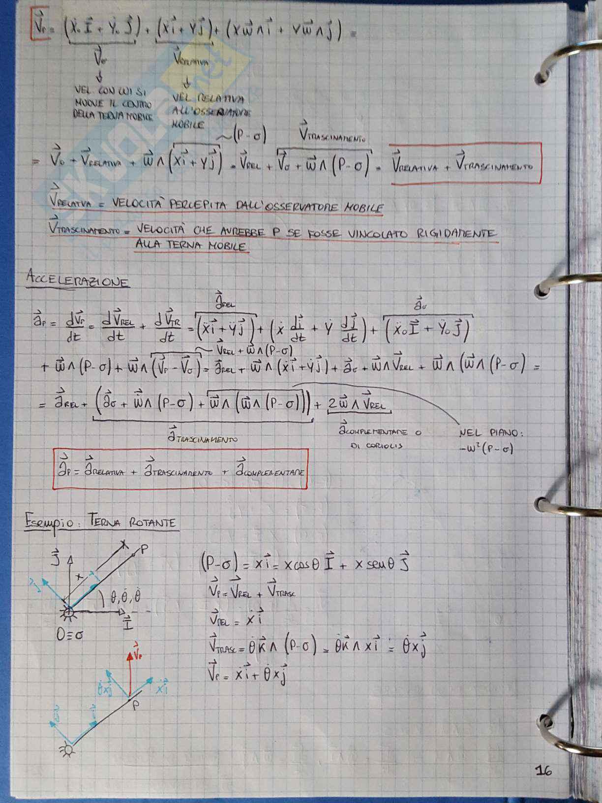 Appunti di Meccanica applicata alle macchine - Lezione Pag. 16