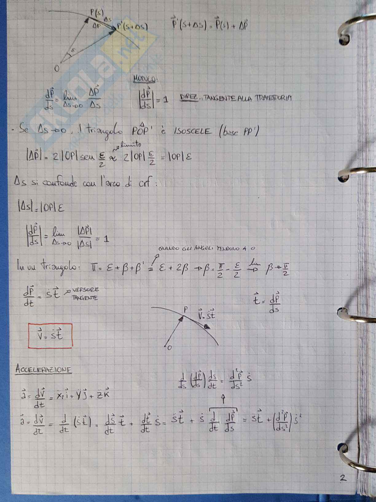 Appunti di Meccanica applicata alle macchine - Lezione Pag. 2