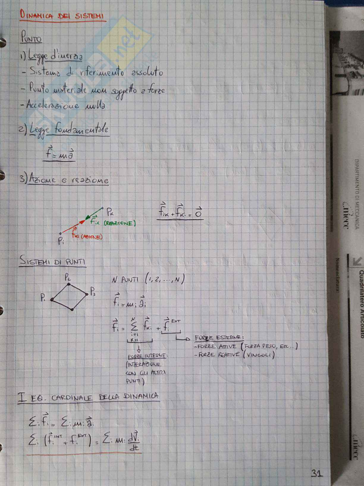 Appunti di Meccanica applicata alle macchine - Lezione Pag. 31