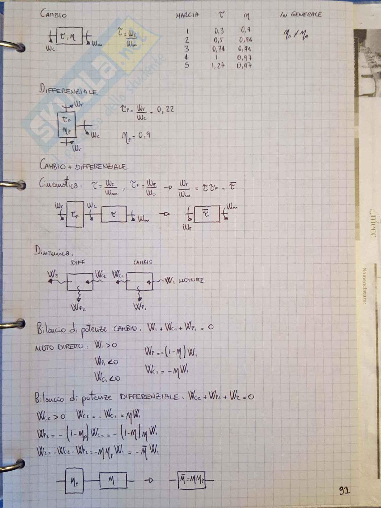 Appunti di Meccanica applicata alle macchine - Lezione Pag. 91
