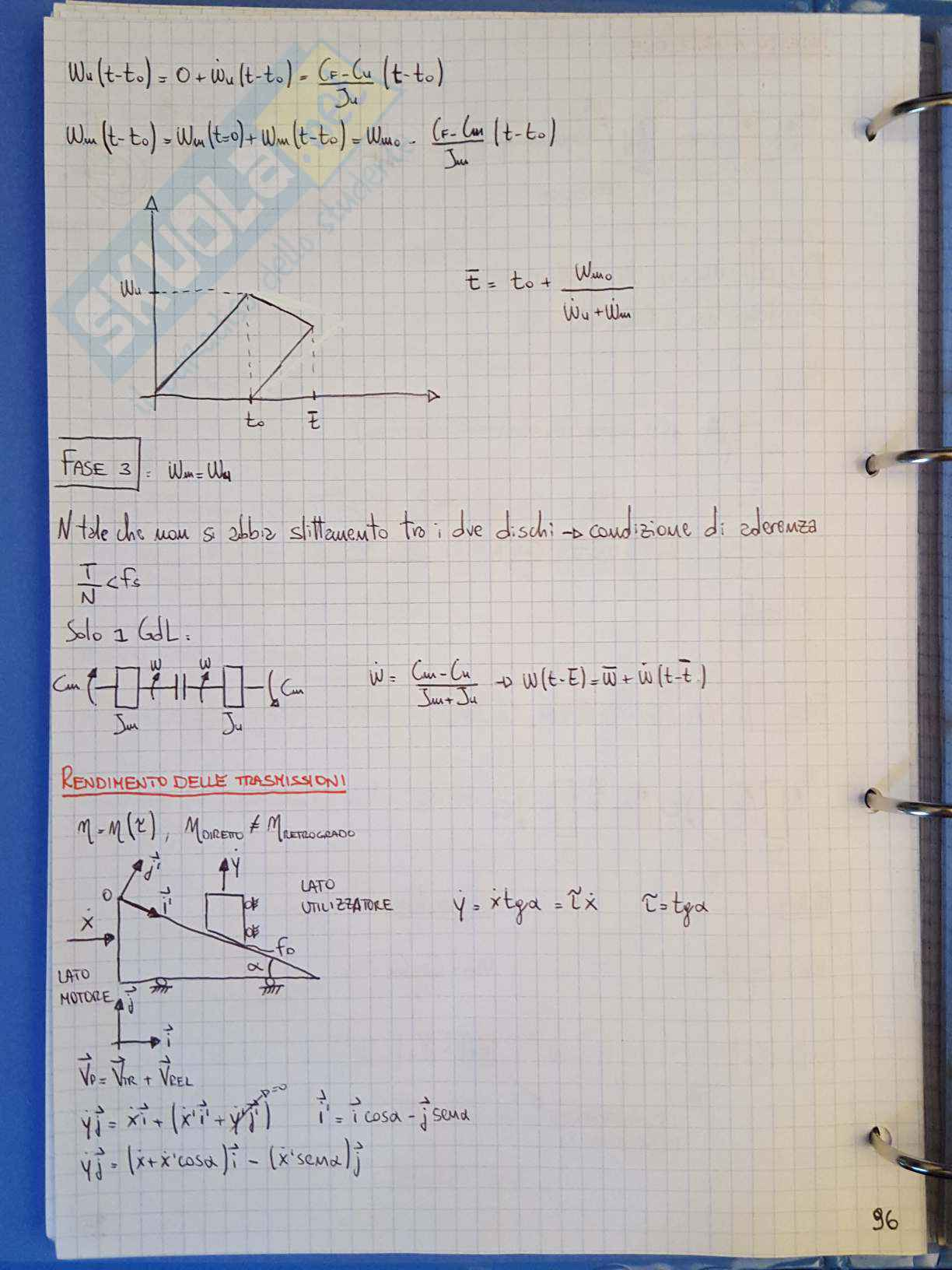 Appunti di Meccanica applicata alle macchine - Lezione Pag. 96