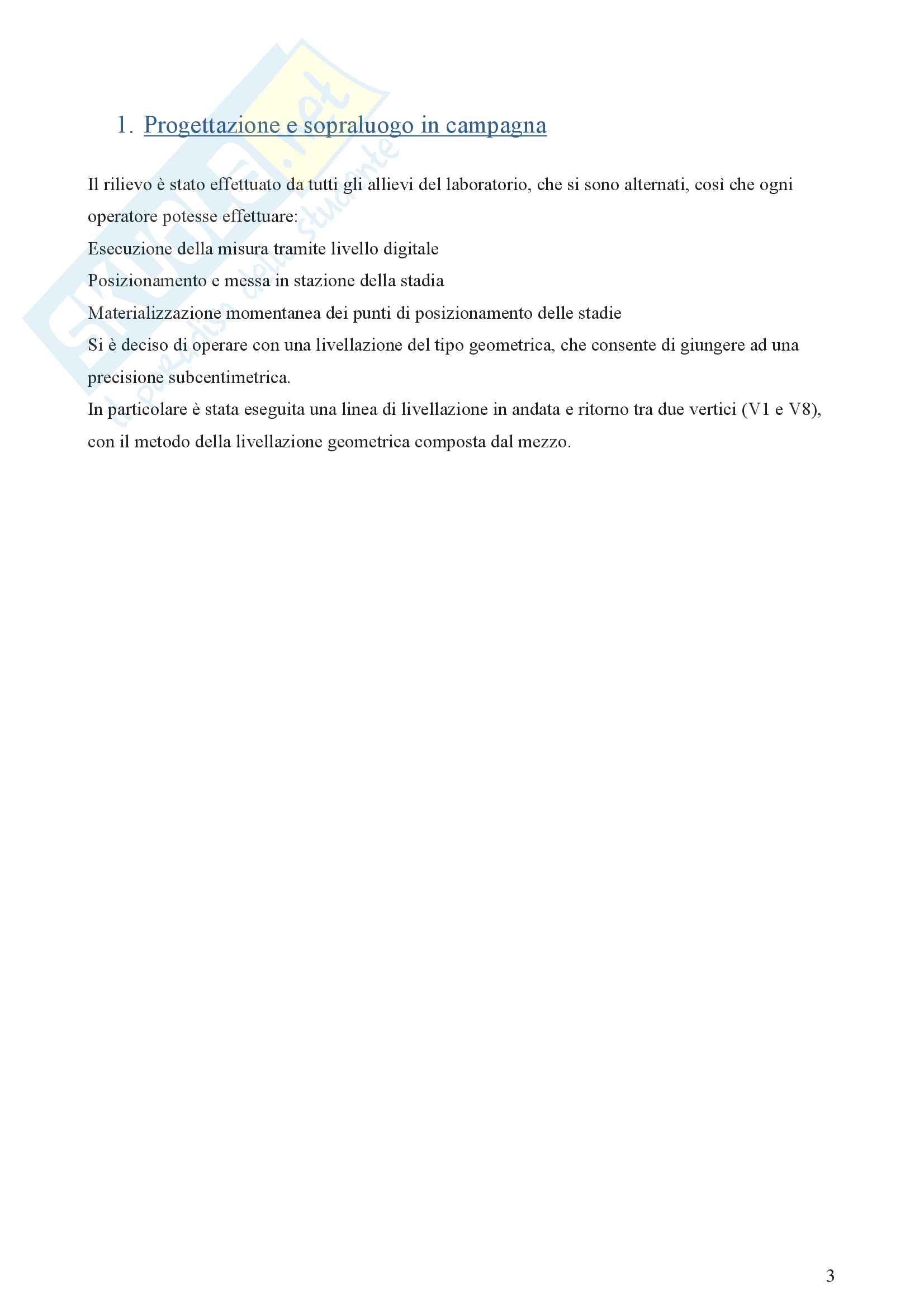 Livellazione geometrica composta dal mezzo Pag. 2