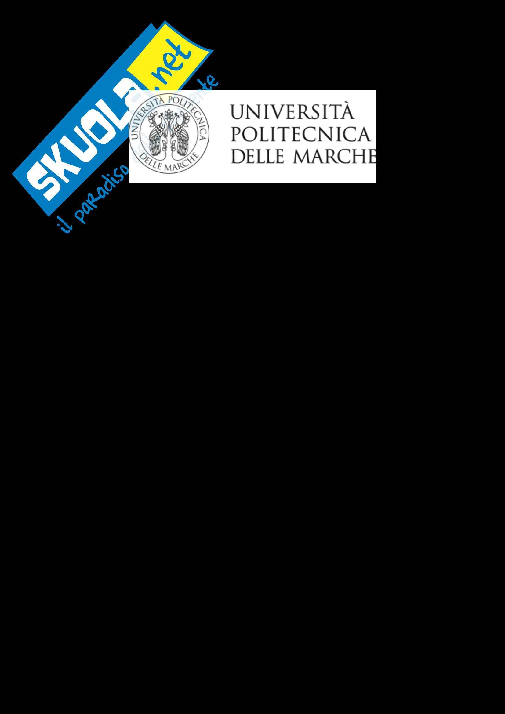 Materiali Strutturali per l'Ingegneria Civile, prof. Corinaldesi