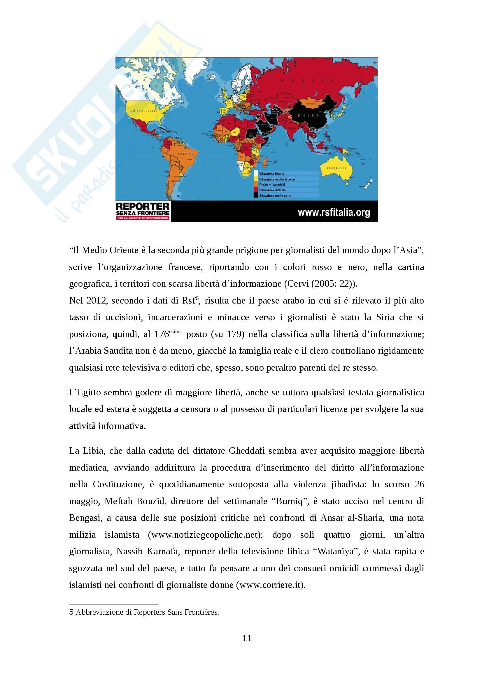 """Oltre la censura: la """"rivoluzione"""" di Aljazeera Pag. 11"""