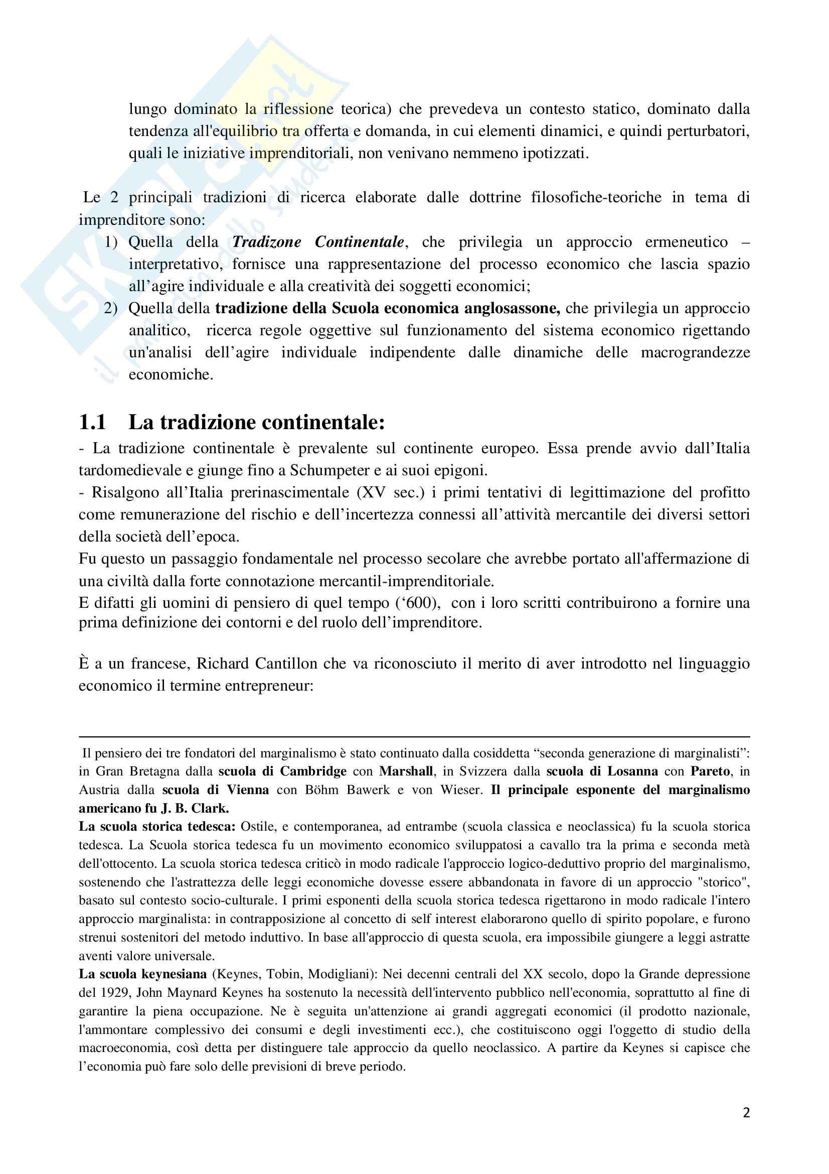 Riassunto esame Storia dell'Impresa, prof. Colonna, libro consigliato Storia dell'Impresa, Toninelli Pag. 2