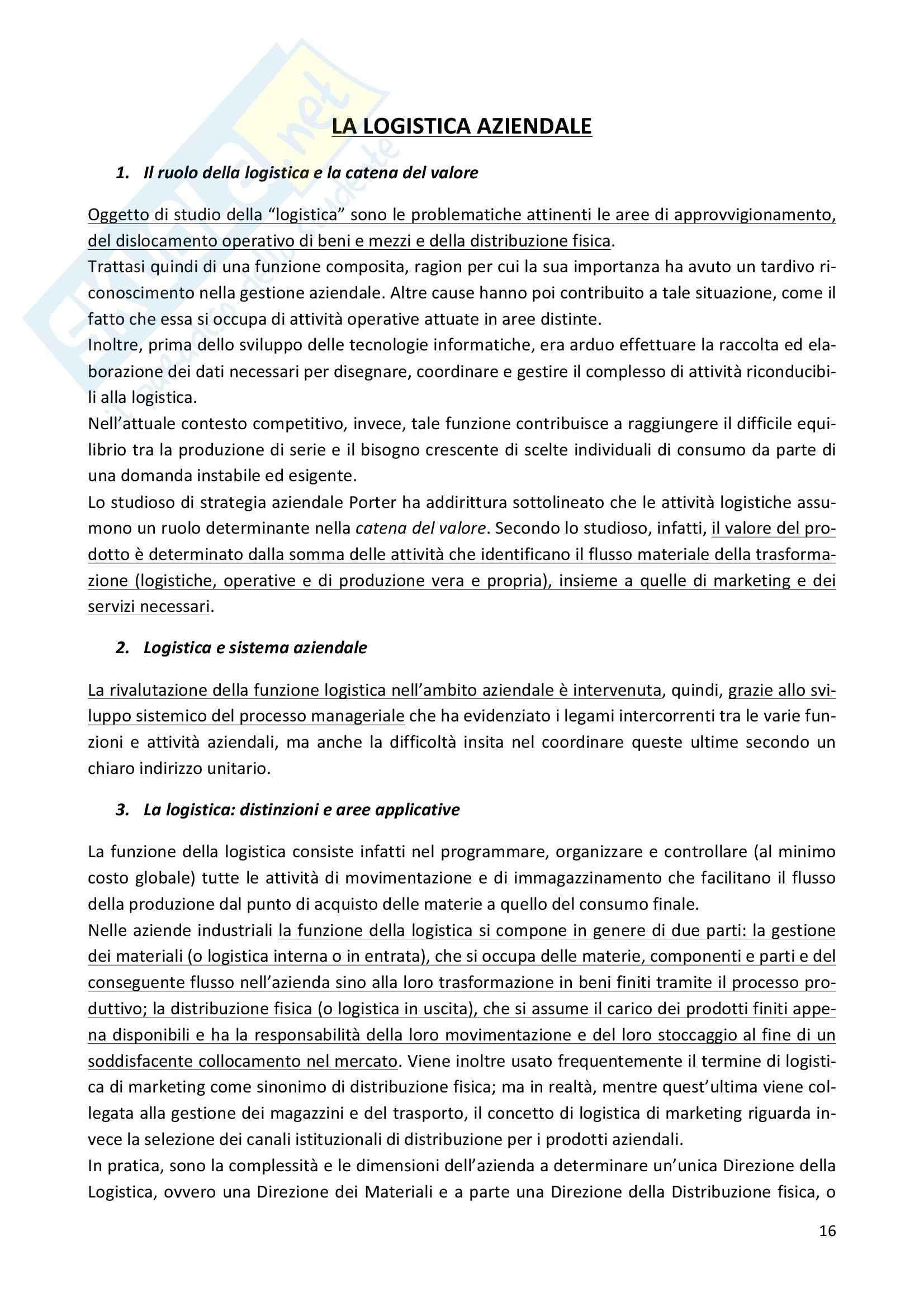 Riassunto esame Economia e gestione delle imprese, prof. Iaffaldano, libro consigliato La gestione d'impresa, Scicutella Pag. 16