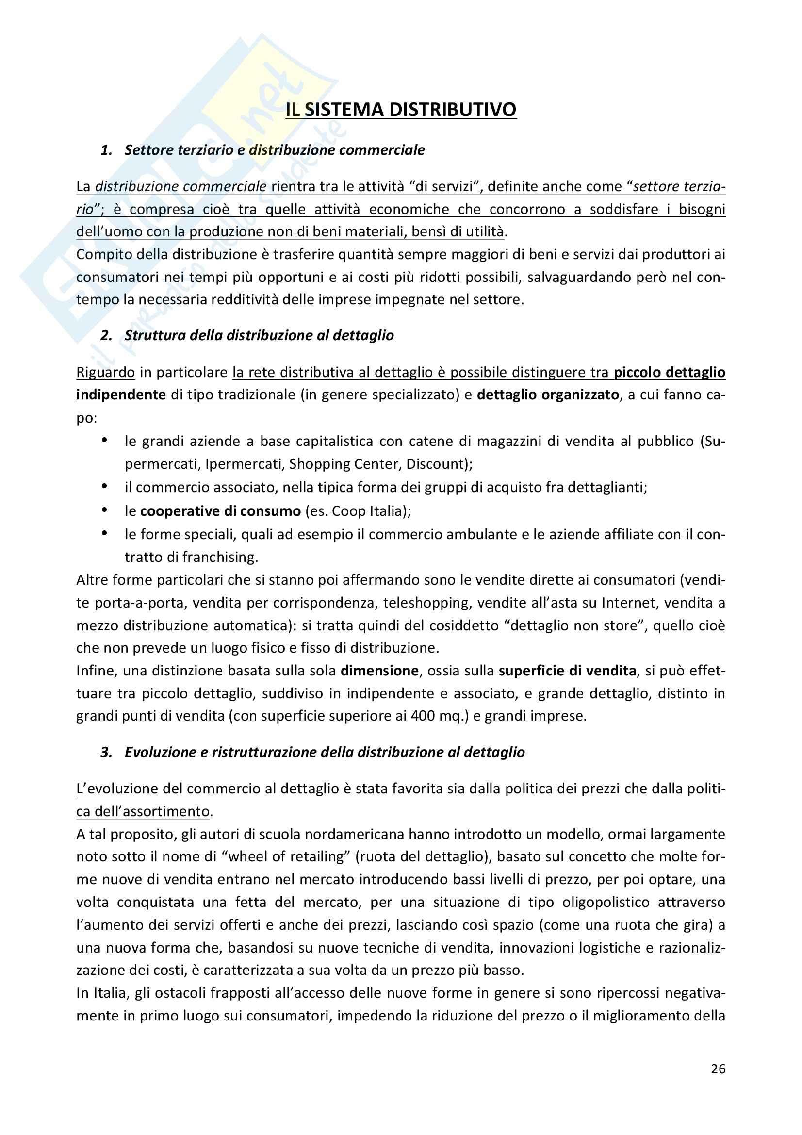 Riassunto esame Economia e gestione delle imprese, prof. Iaffaldano, libro consigliato La gestione d'impresa, Scicutella Pag. 26