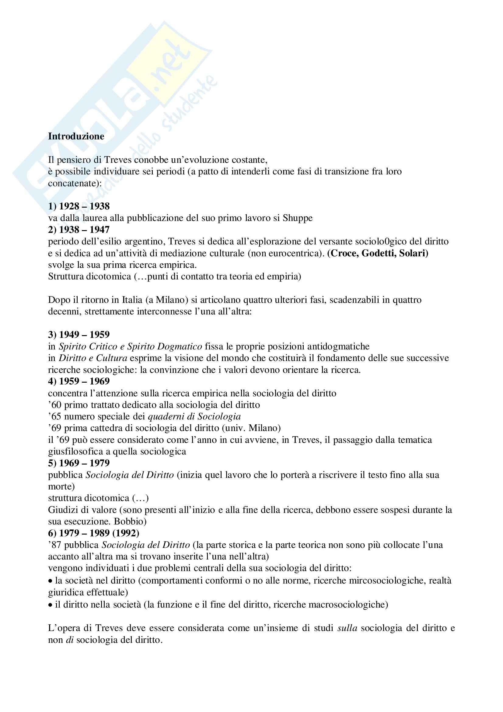 appunto V. Ferrari Sociologia del diritto
