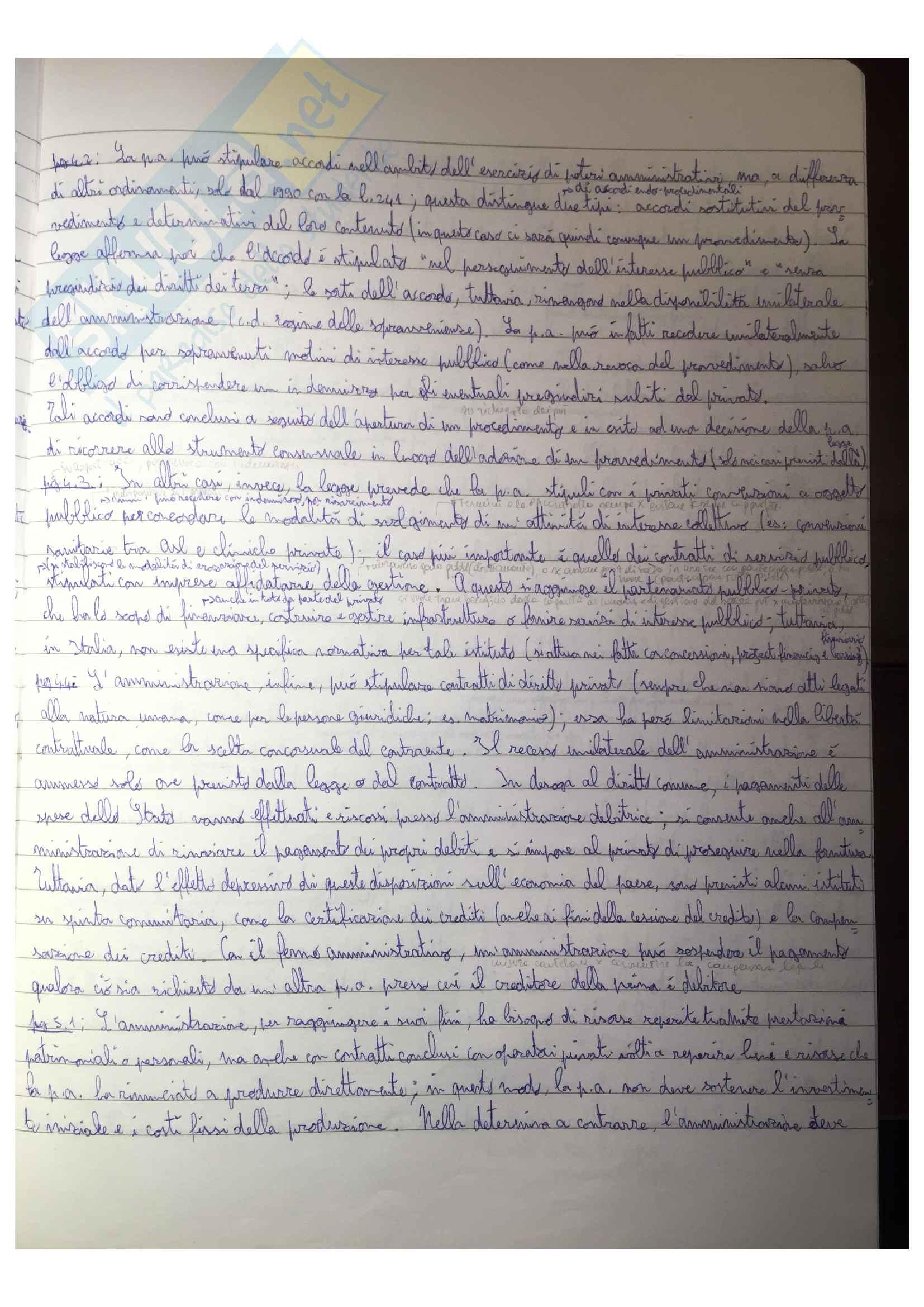 Riassunto esame Diritto Amministrativo, docente G. Napolitano, libro consigliato Logica del diritto amministrativo, di G. Napolitano Pag. 11