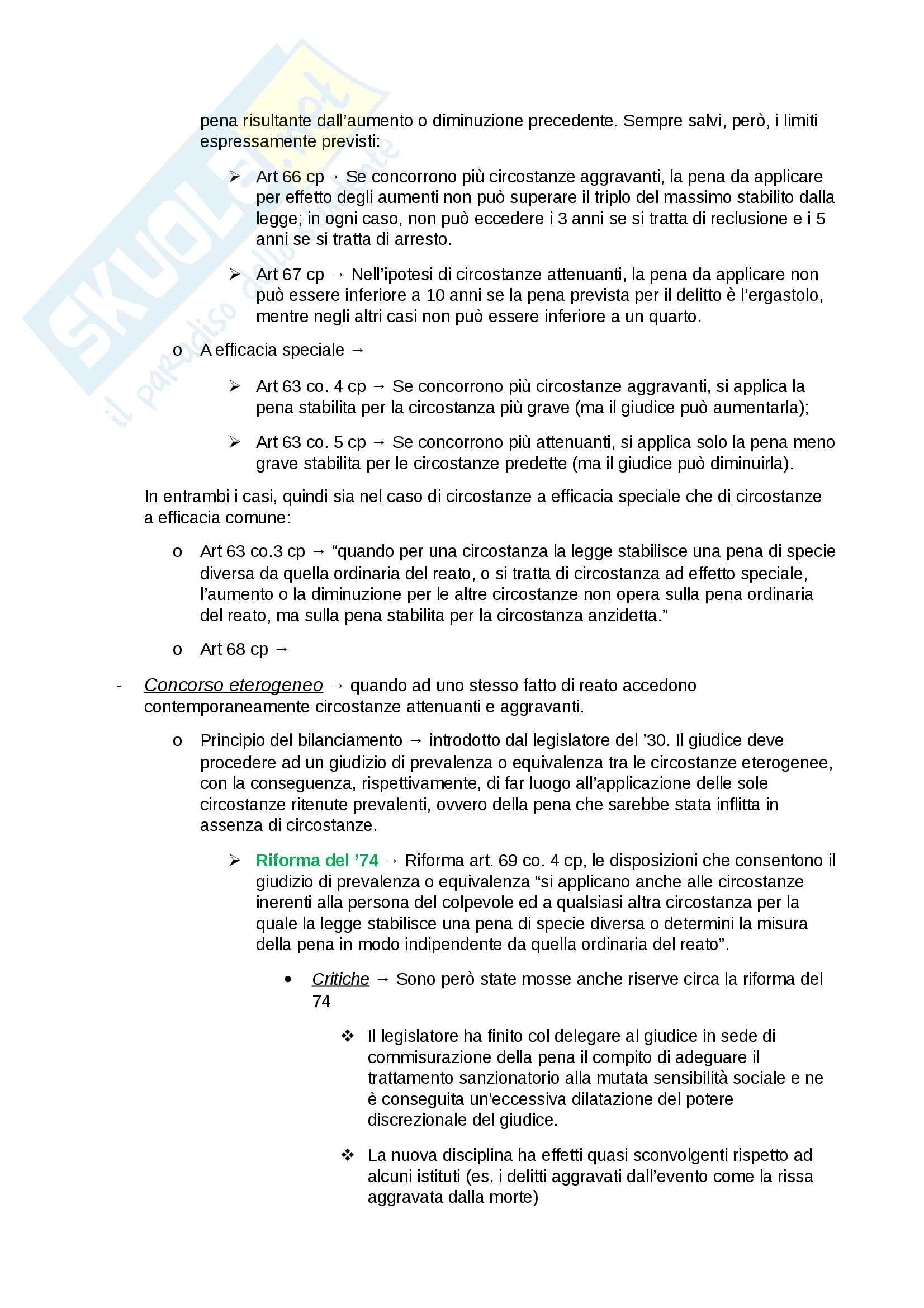 Riassunto esame Diritto Penale, prof. Mazzacuva, libro consigliato Manuale di Diritto Penale Fiandaca, Musco, disciplina del 2016 Pag. 56